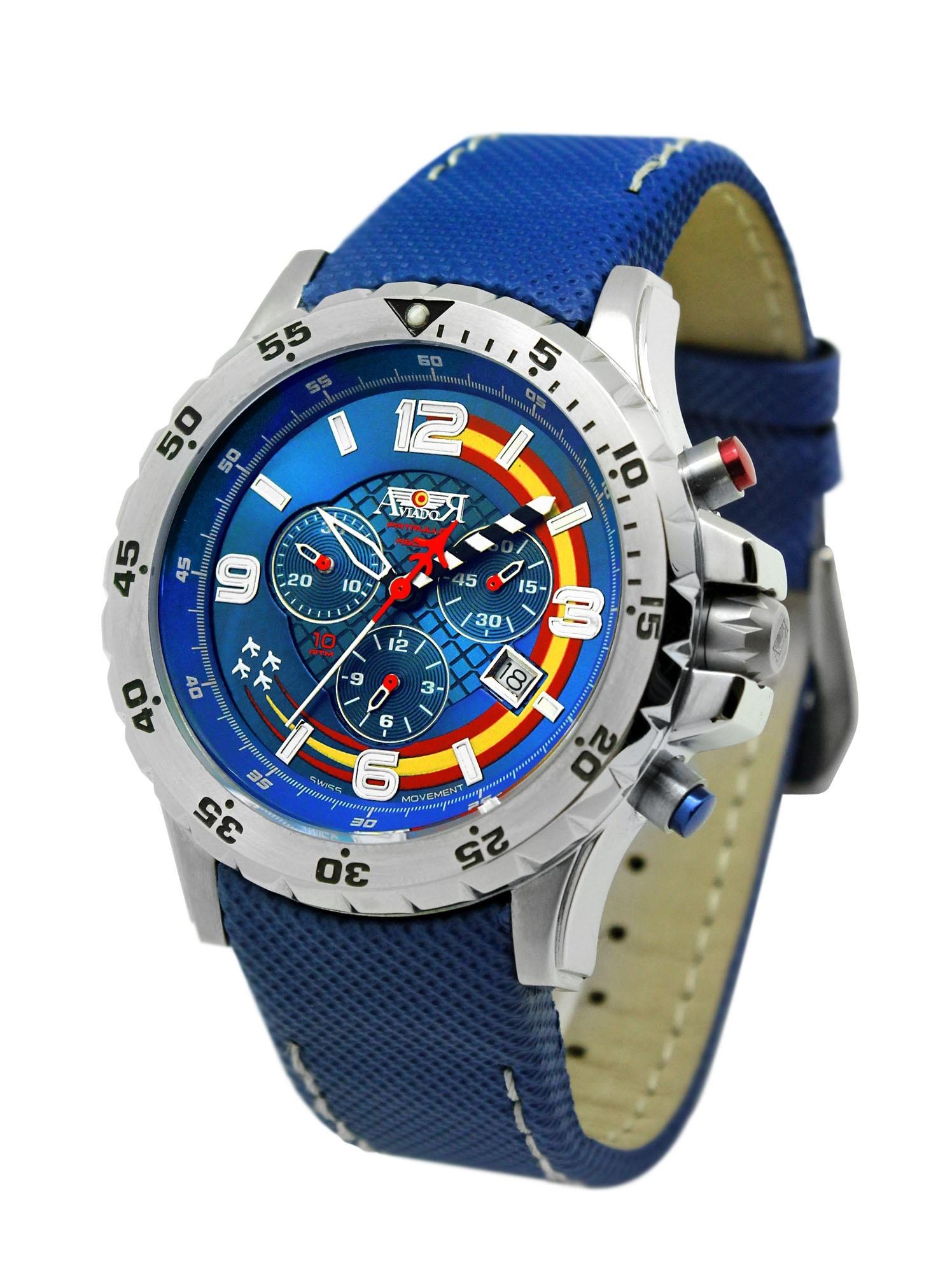 La marca de relojes Aviador cerró 2013 con un incremento del 9,5% de sus ventas