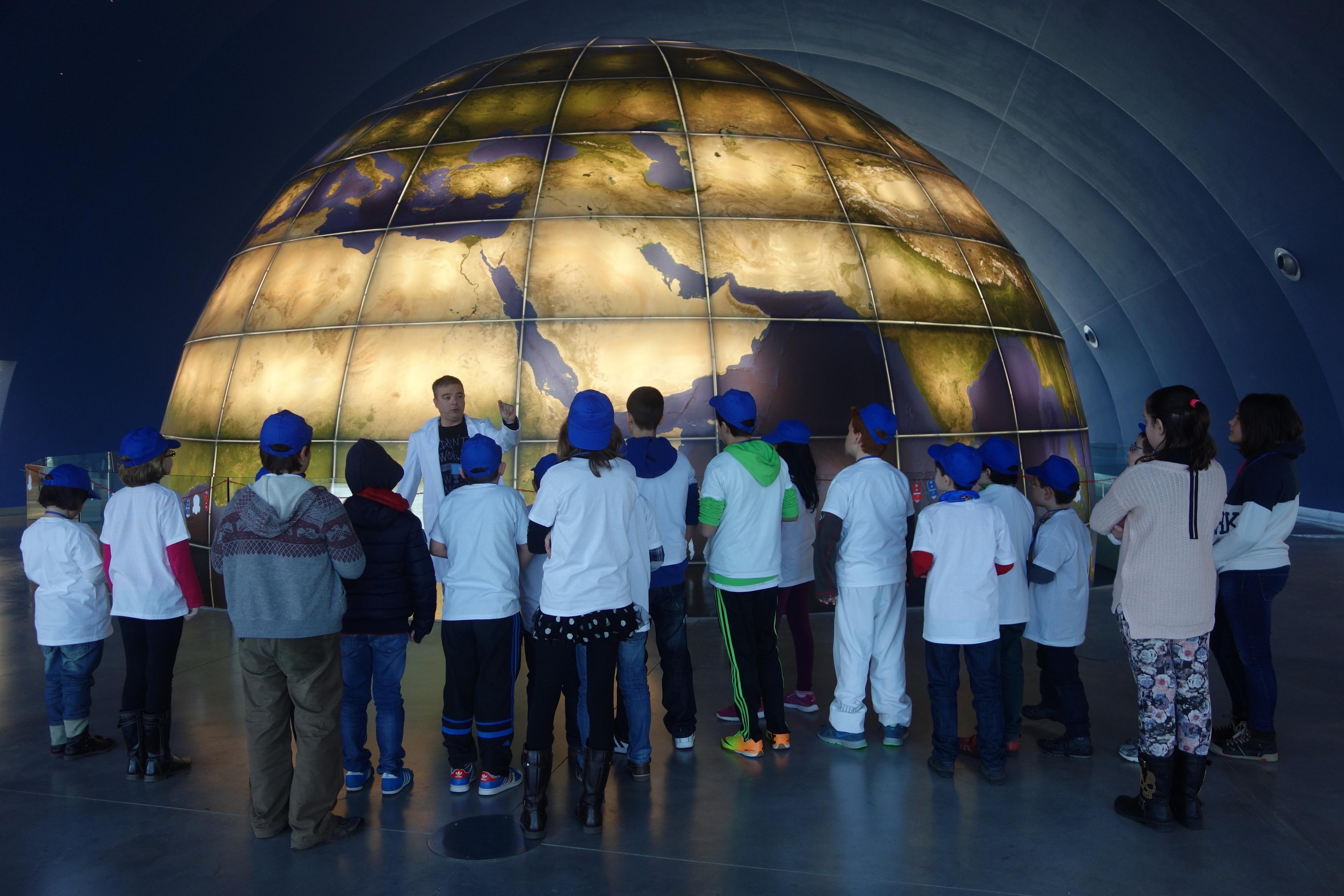La Academia de Astronautas Espacio 0.42 comienza a formar a los niños en el Parque Tecnológico Walqa de Huesca