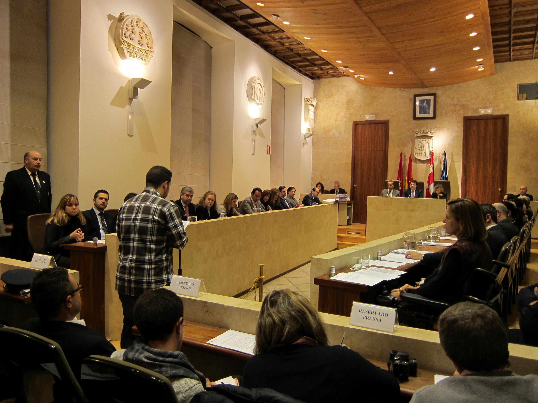 El Ayuntamiento de Salamanca aprueba  su presupuesto para 2014, que será de 165 millones de euros