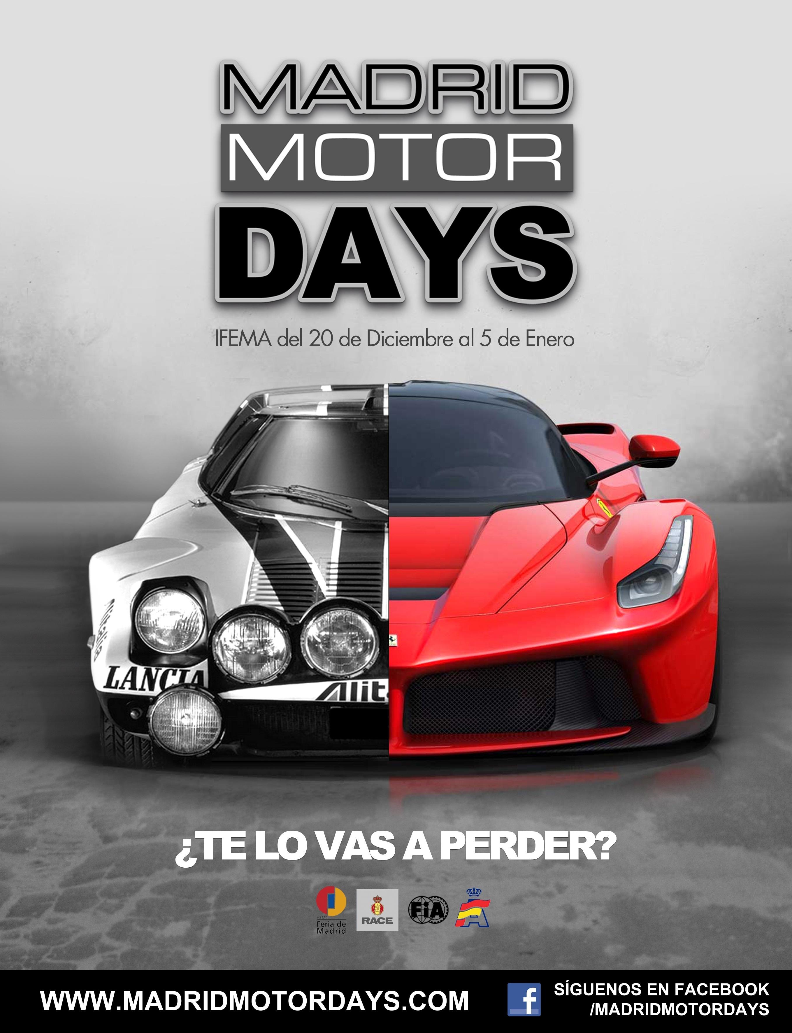 El evento Madrid Motor Days recibe más de 20.000 visitantes en los primeros cinco días