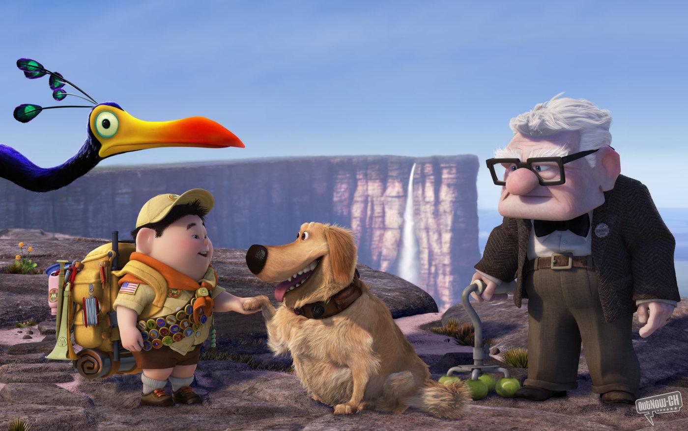 La película »Up» de A3 arrasa con un fuerte 19,8% de share frente a »Hay una cosa que te quiero decir»