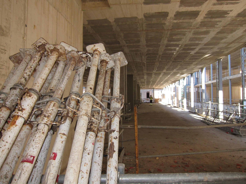 Los costes de la construcción en Euskadi bajan un 0,4% en noviembre