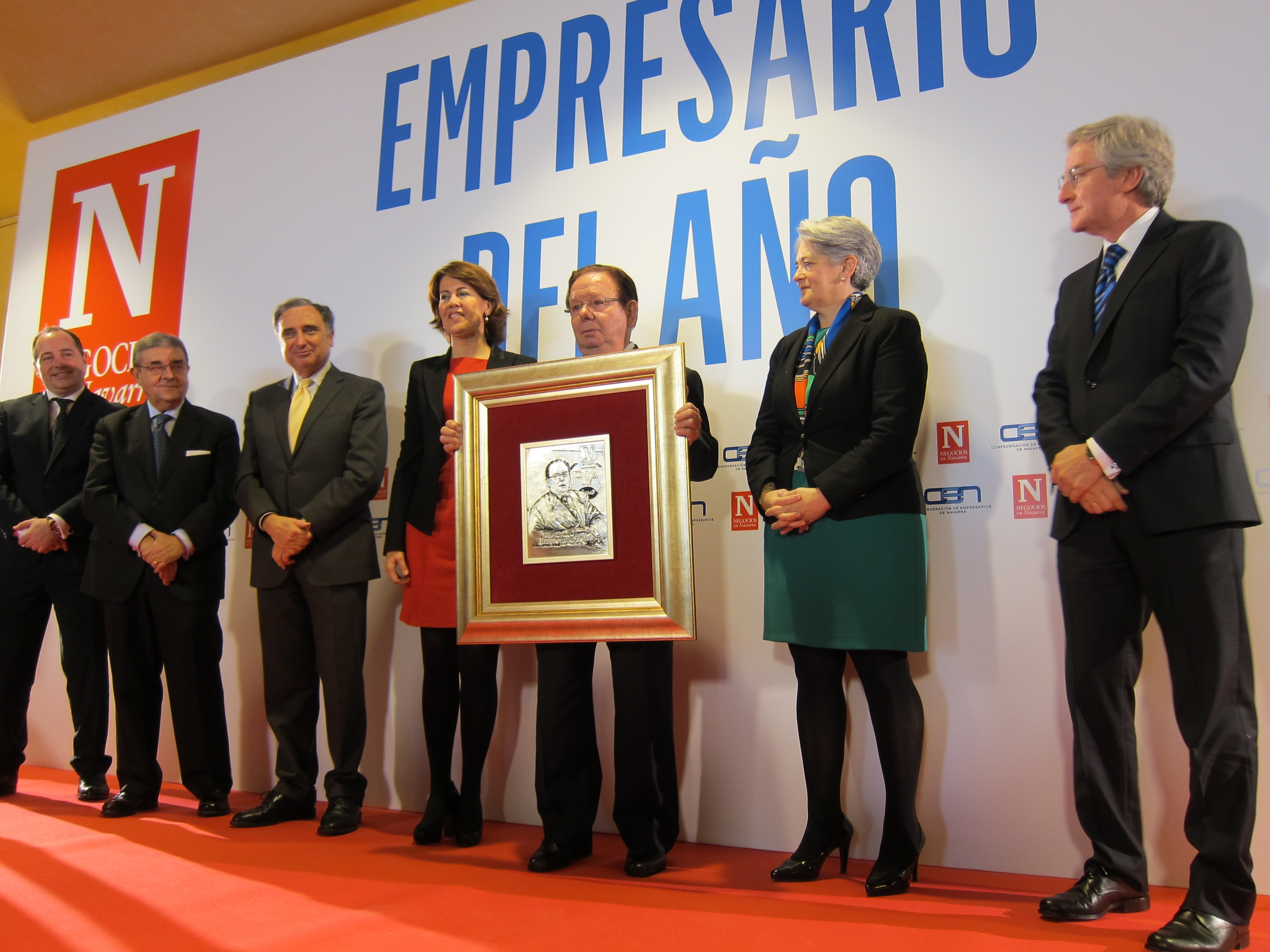 Ángel Ría recibe el Premio Empresario del Año como «un honor» en sus «últimos kilómetros» al frente de su conservera