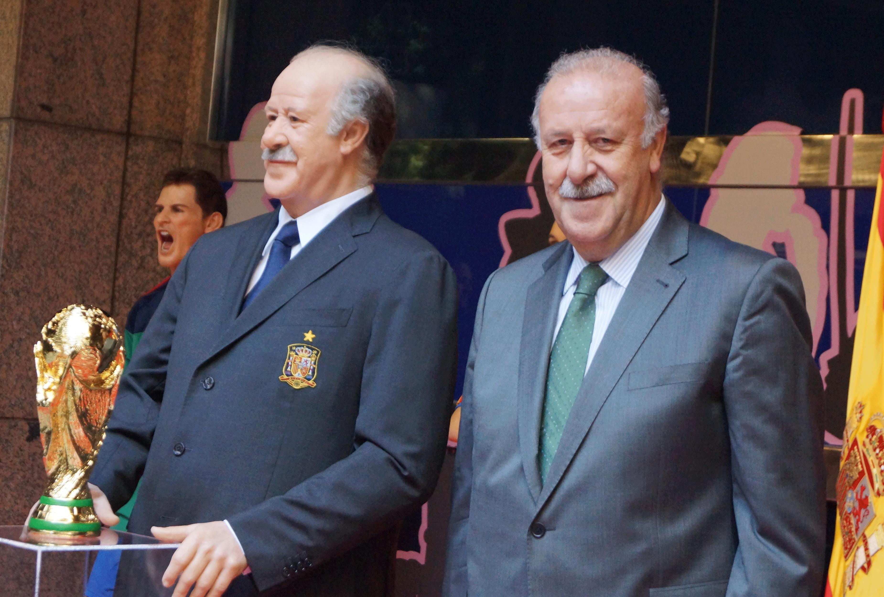 Del Bosque: «Defender el título pertenece al terreno de los sueños»