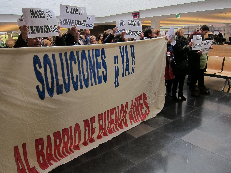 Los vecinos del barrio de Buenos Aires de Salamanca quieren «llegar hasta el final» para acabar con el narcotráfico