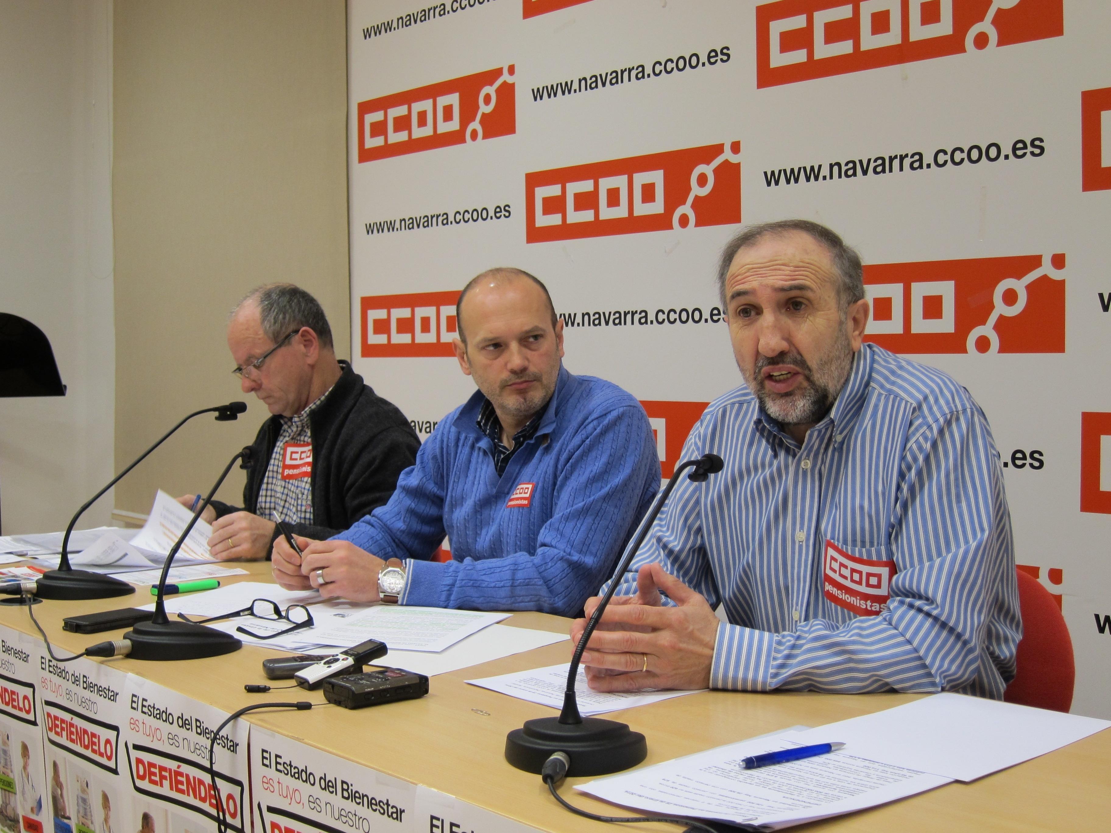CCOO ve «sangrante» que el 55% de las pensiones en España estén por debajo del Salario Mínimo Interprofesional