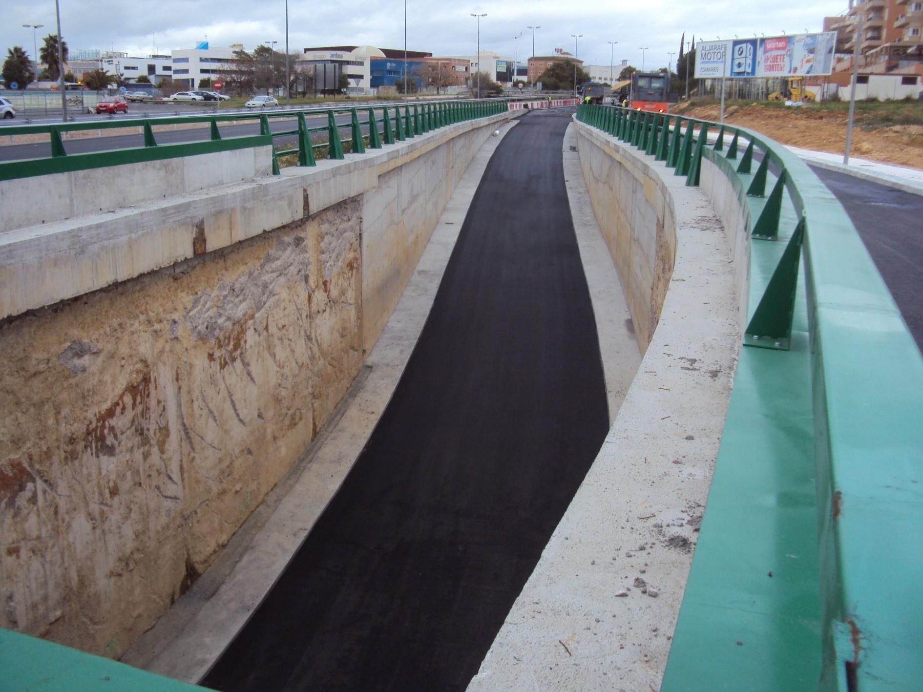 Concluyen las obras de infraestructura del túnel de salida de la rotonda del PISA