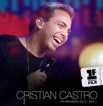 Cristian Castro actuará en Madrid, Sevilla, Bilbao, Valencia y Barcelona