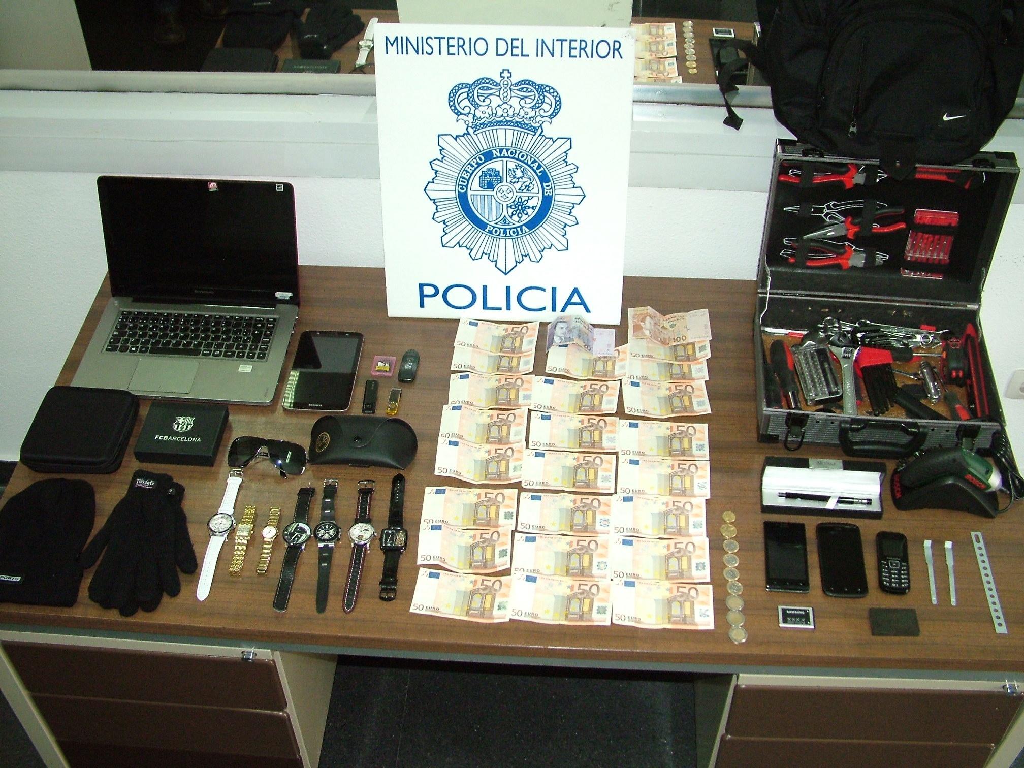 Detenido en Segovia un varón que alquilaba habitaciones para robar a sus inquilinos tras estudiar sus hábitos