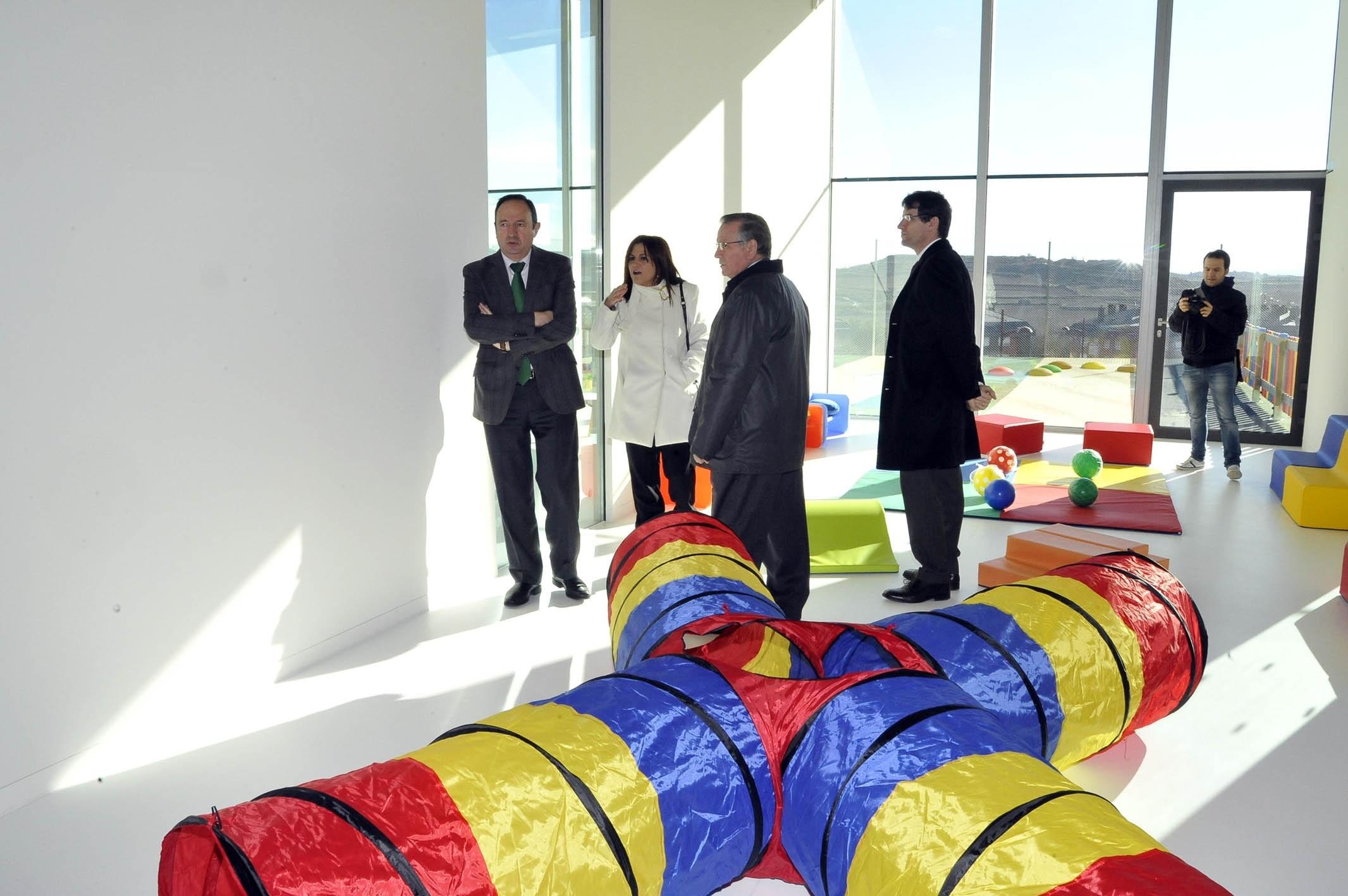 Sanz abre en Haro la nueva Escuela de Educación Infantil de Primer Ciclo »Las Luces», para 164 alumnos