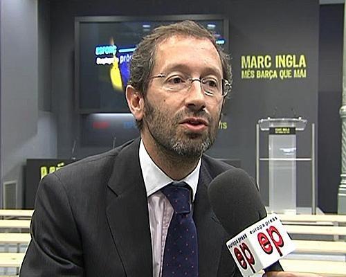 Marc Ingla pide a Bartomeu que convoque elecciones en junio