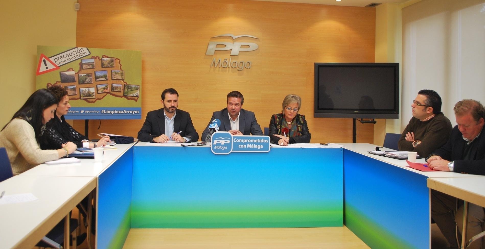 PP critica la «pasividad» de la Junta con la limpieza de los arroyos de la provincia