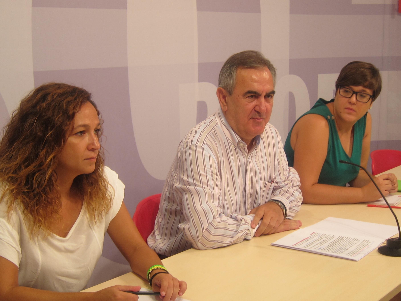 El PSOE subraya que el Gobierno del PP es «incapaz» de gestionar la economía regional