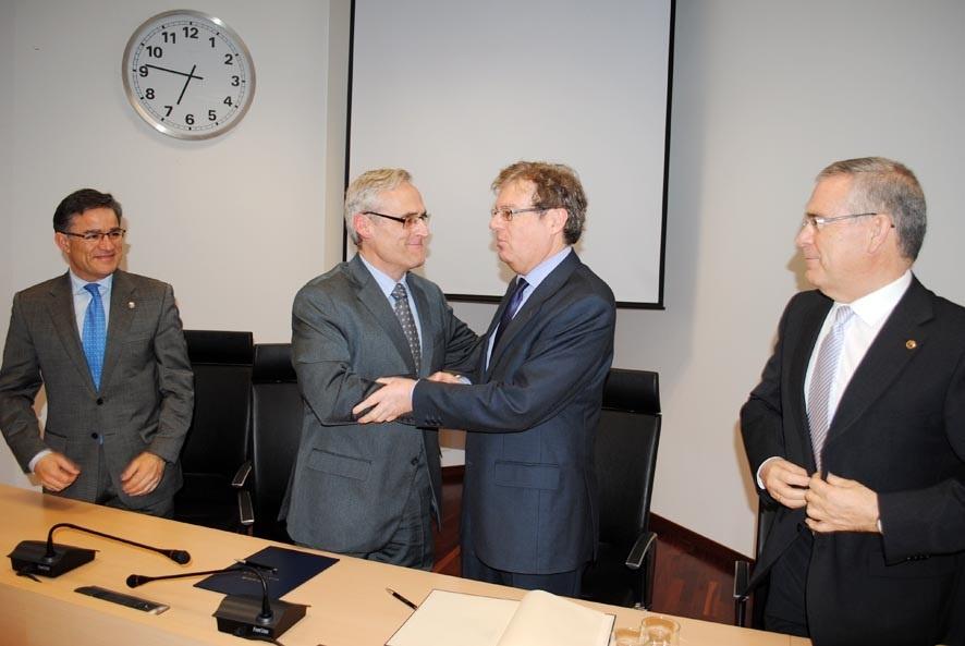 El rector de la UCLM destaca que los estudiantes de Derecho de la región podrán hacer prácticas en las fiscalías