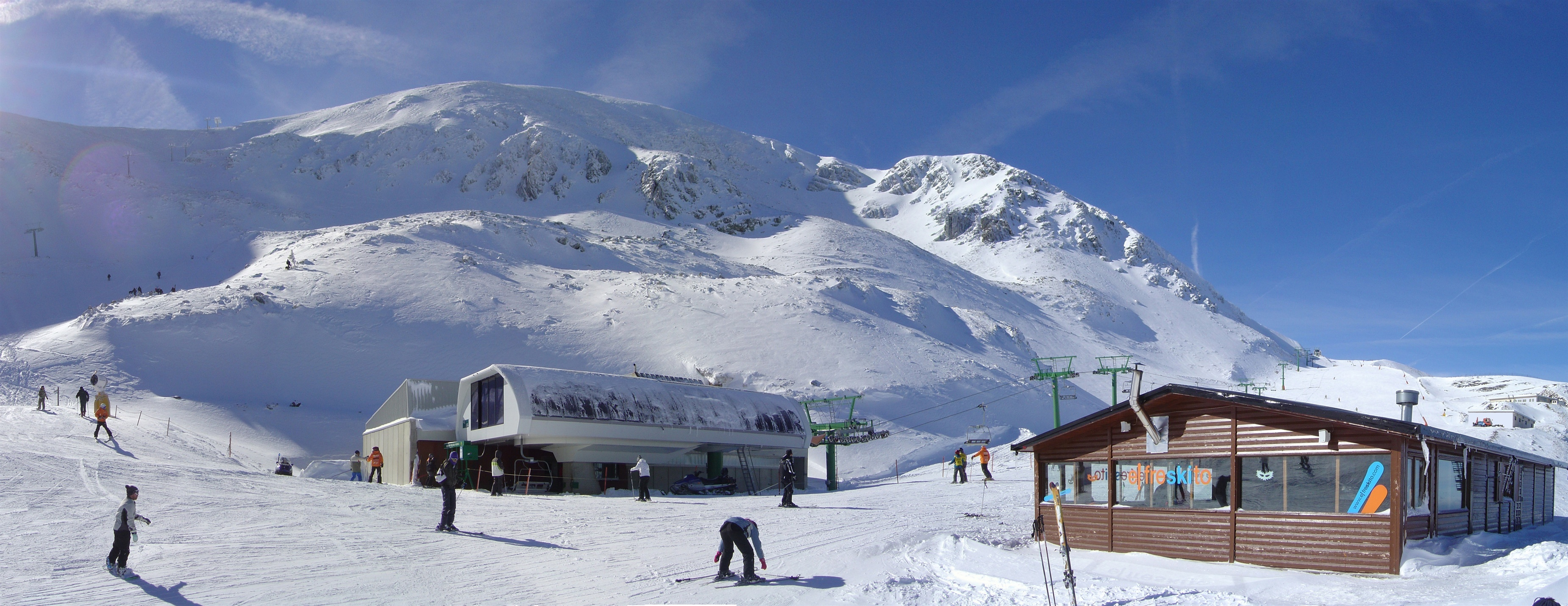 Valdezcaray prevé abrir este jueves diecisiete pistas de esquí en 13,3 kilómetros esquiables