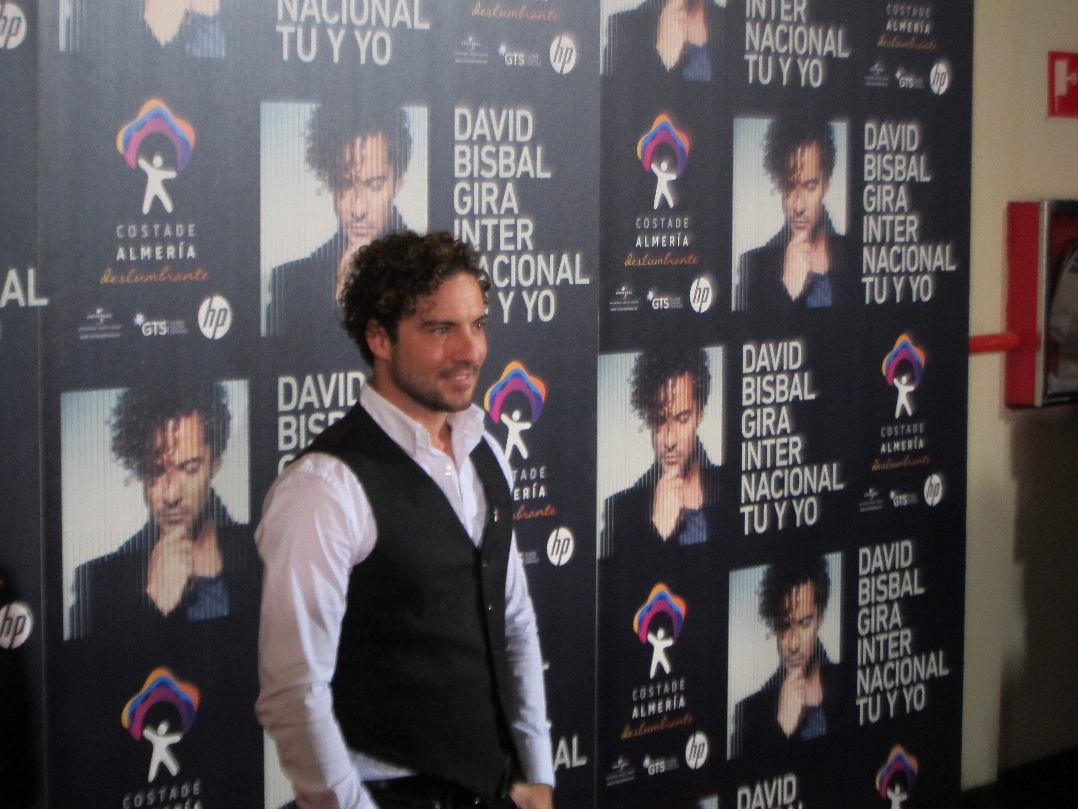 A la venta las entradas para el concierto de David Bisbal del 19 de septiembre en Granada