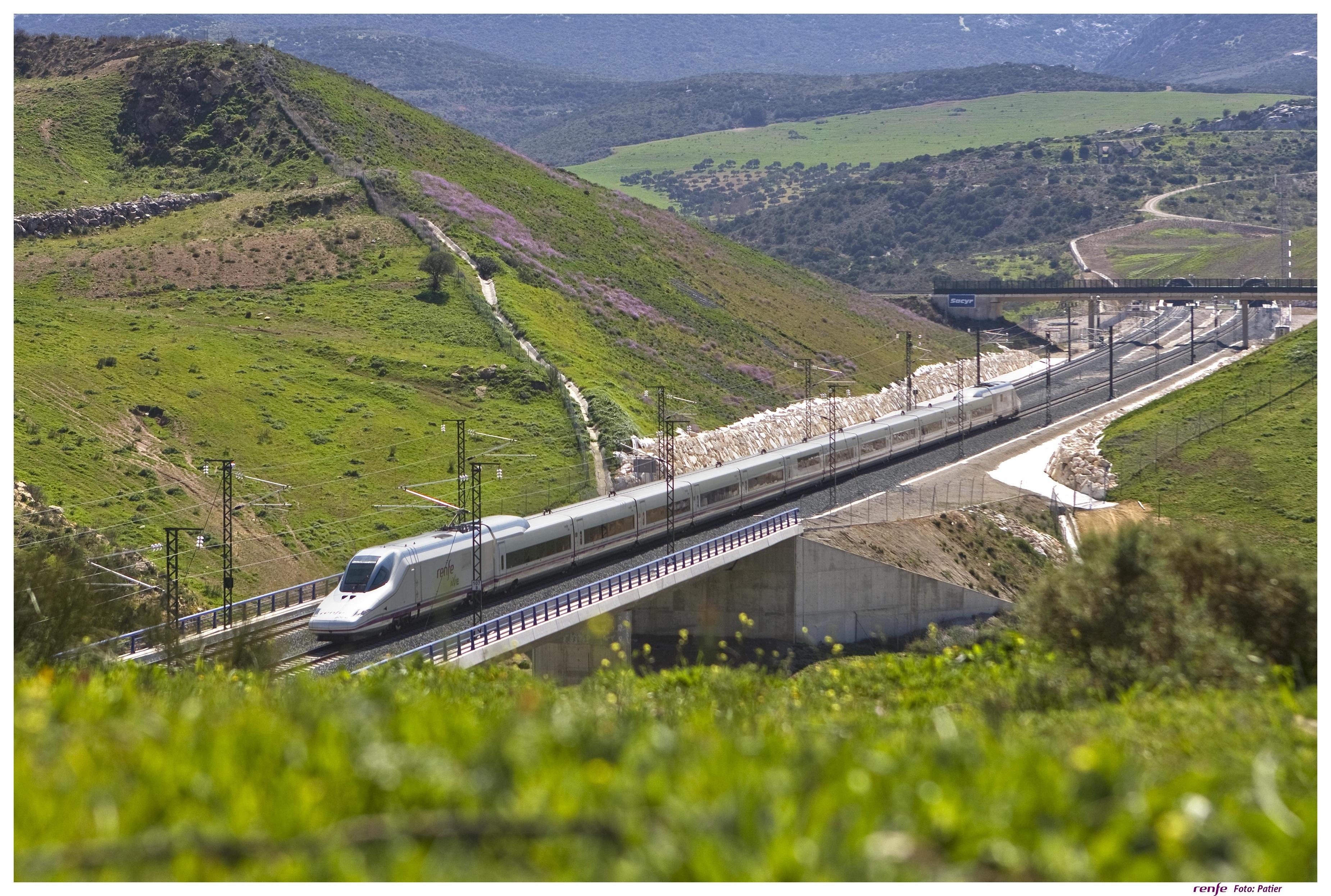 Más de 2,5 millones de viajeros utilizaron servicios AVE y Larga distancia de Renfe en Málaga en 2013