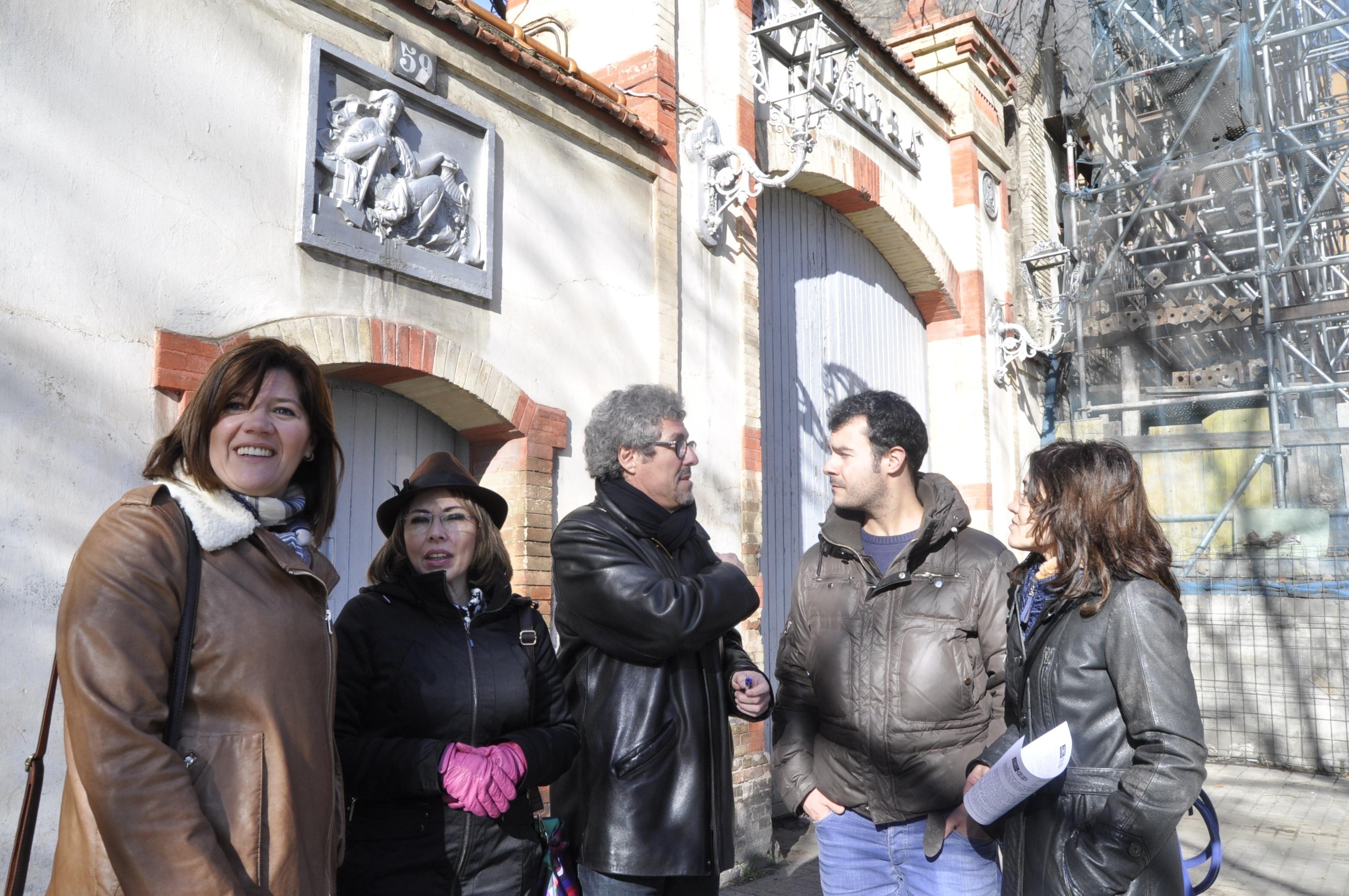 CHA lleva a las Cortes el debate sobre Averly con una propuesta para convertirlo en Bien de Interés Cultural