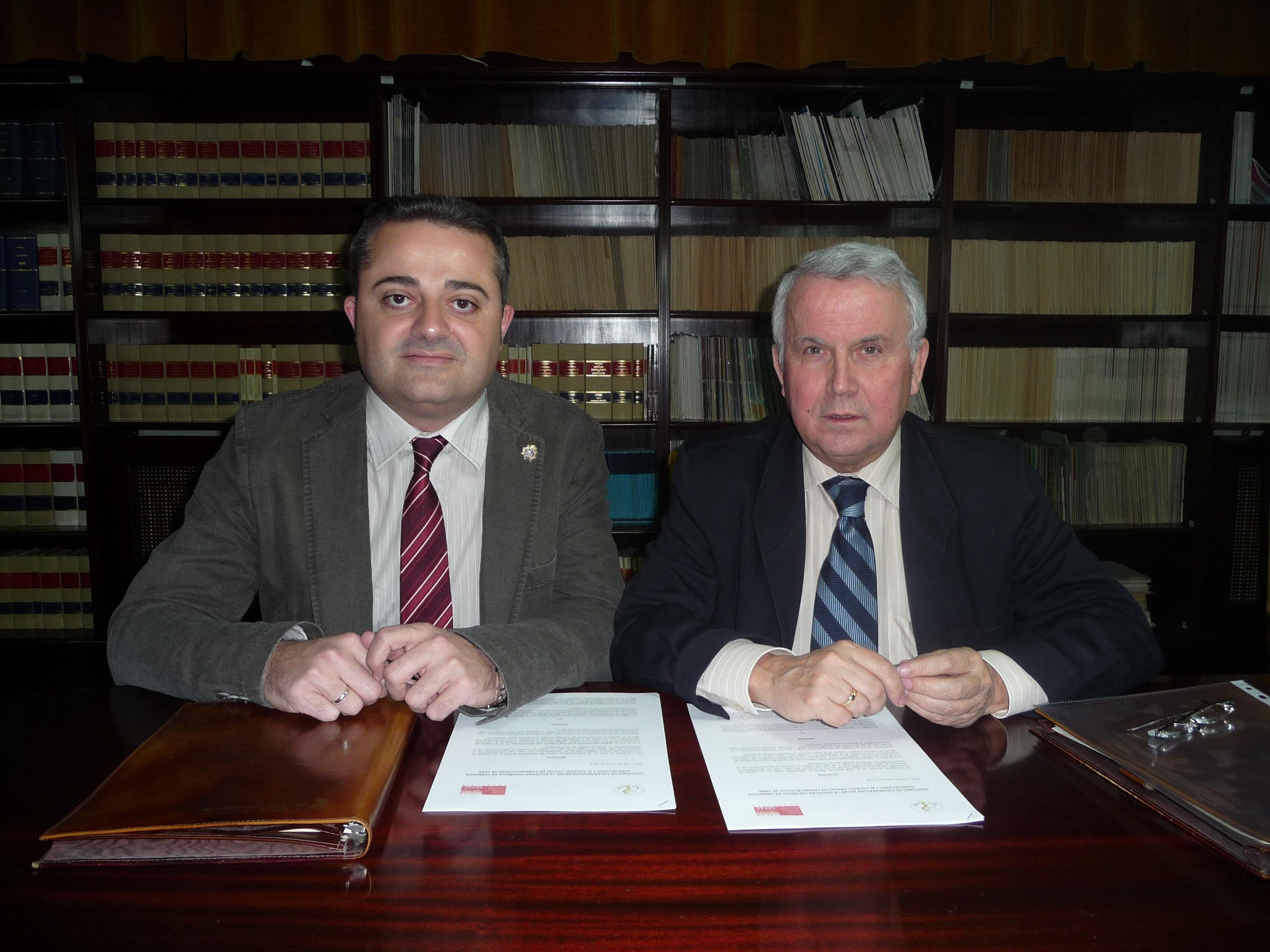 COF de Jaén y SEFAC firman un acuerdo para impulsar la investigación y la formación en la farmacia comunitaria