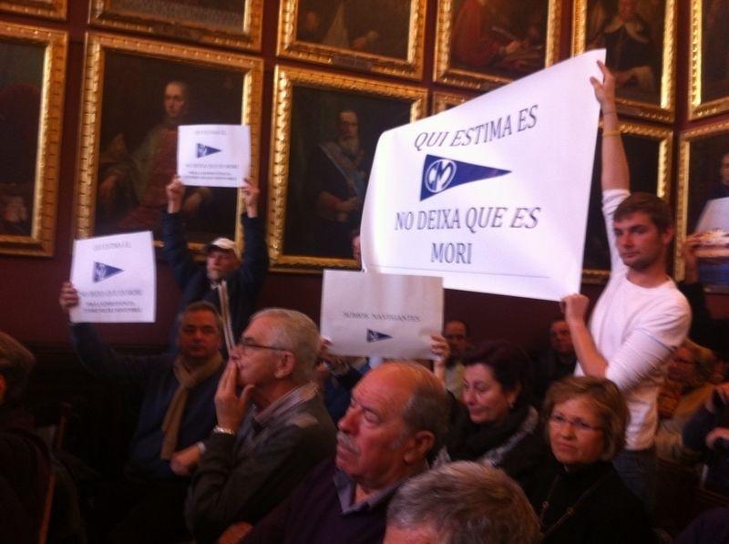 La junta del Club Molinar anuncia que modificará el proyecto de remodelación