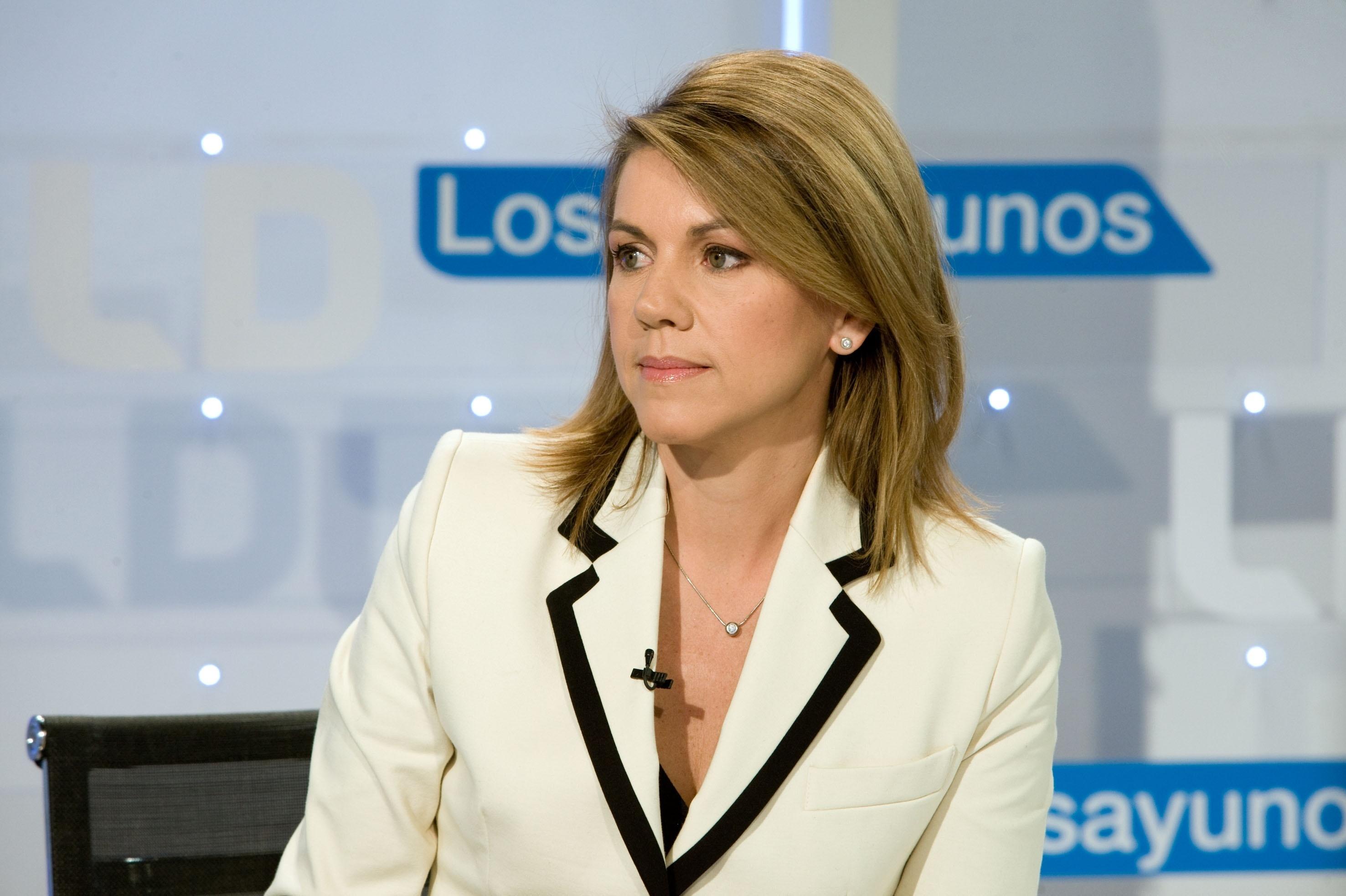 Cospedal asegura que el informe de FAES y el Gobierno dicen «en esencia» lo mismo sobre Cataluña