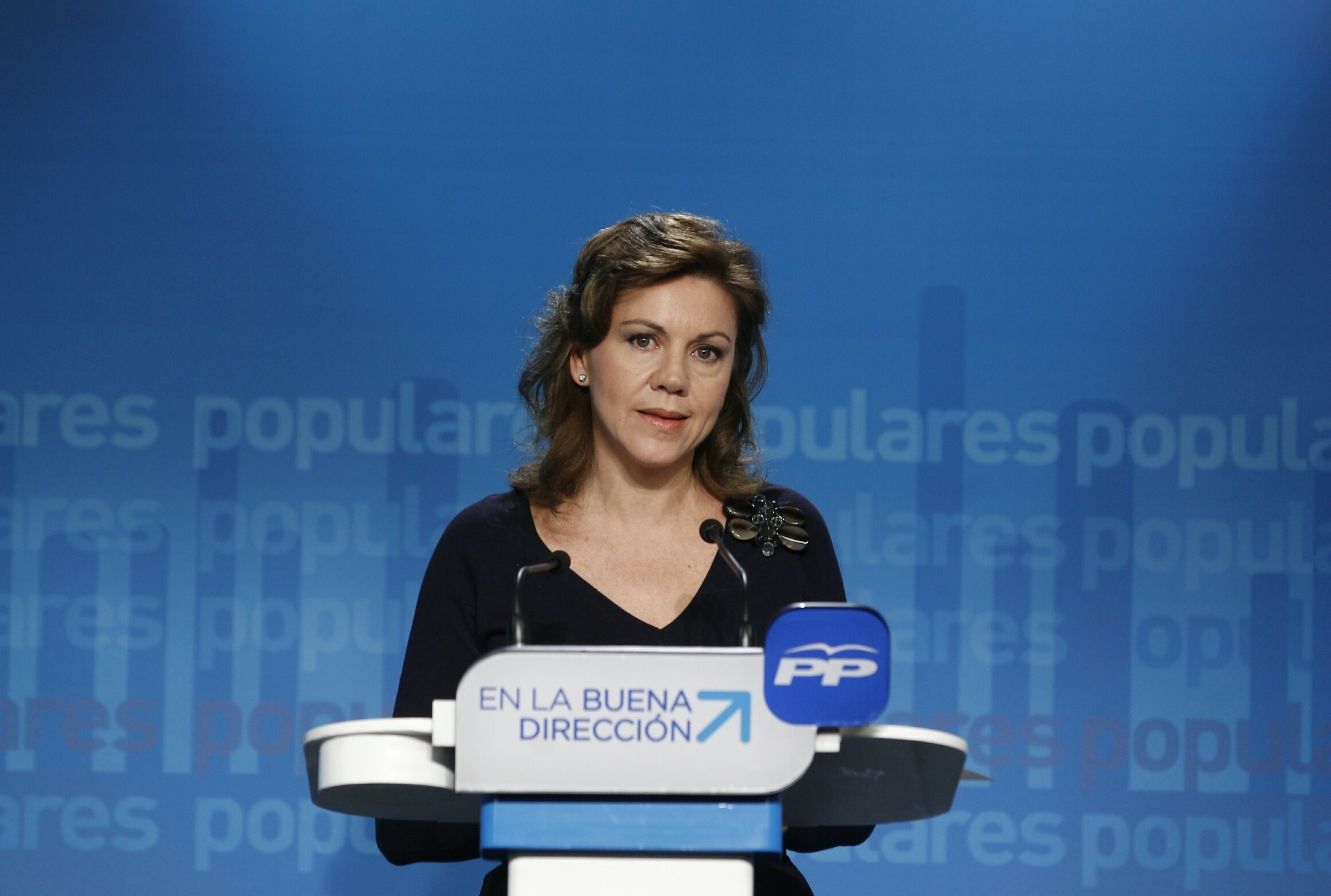 De Cospedal ve «bastante improbable» que este fin de semana se anuncie el candidato del PP a las europeas