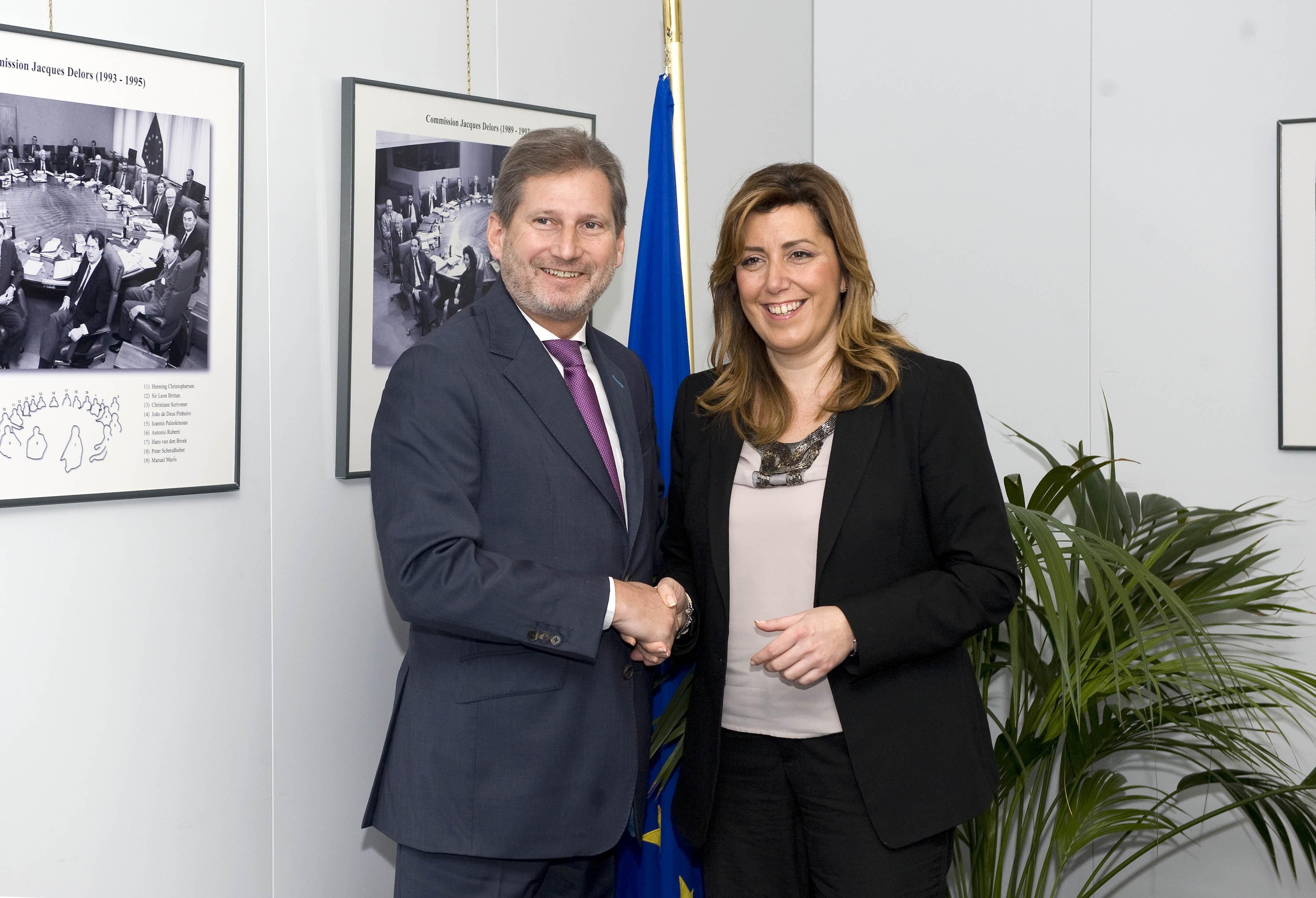 Díaz expresa su «vergüenza» por que el rechazo a la «barbaridad» de la reforma haya llegado a Bruselas