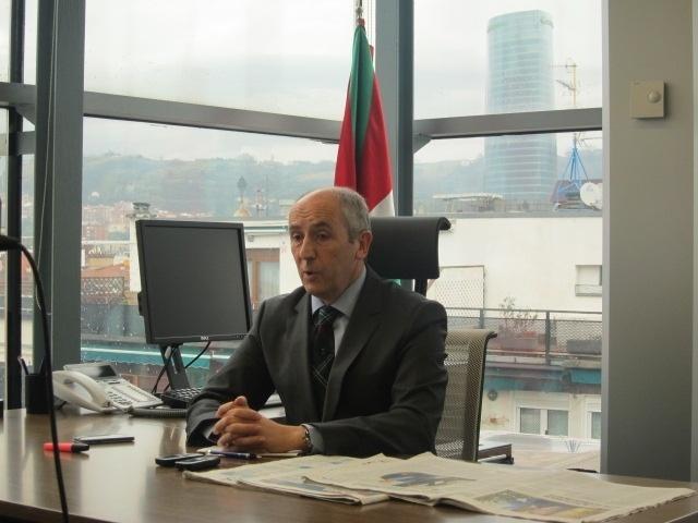 Erkoreka destaca «la valentía» de Bilbao y defiende ser sede de la Eurocopa, pero también a Euskadi