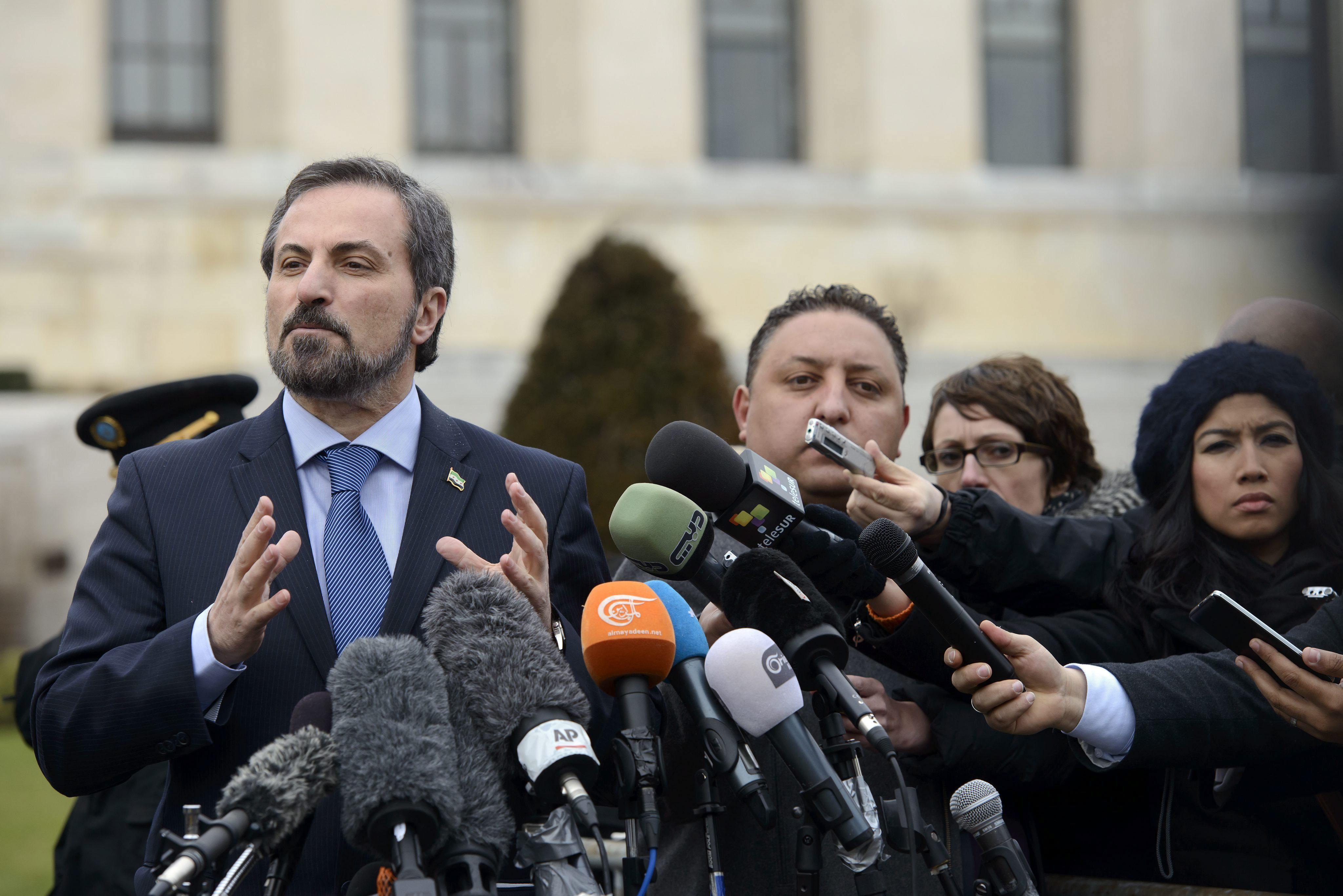 Confirman que no habrá reunión entre oposición y gobierno sirios por la tarde