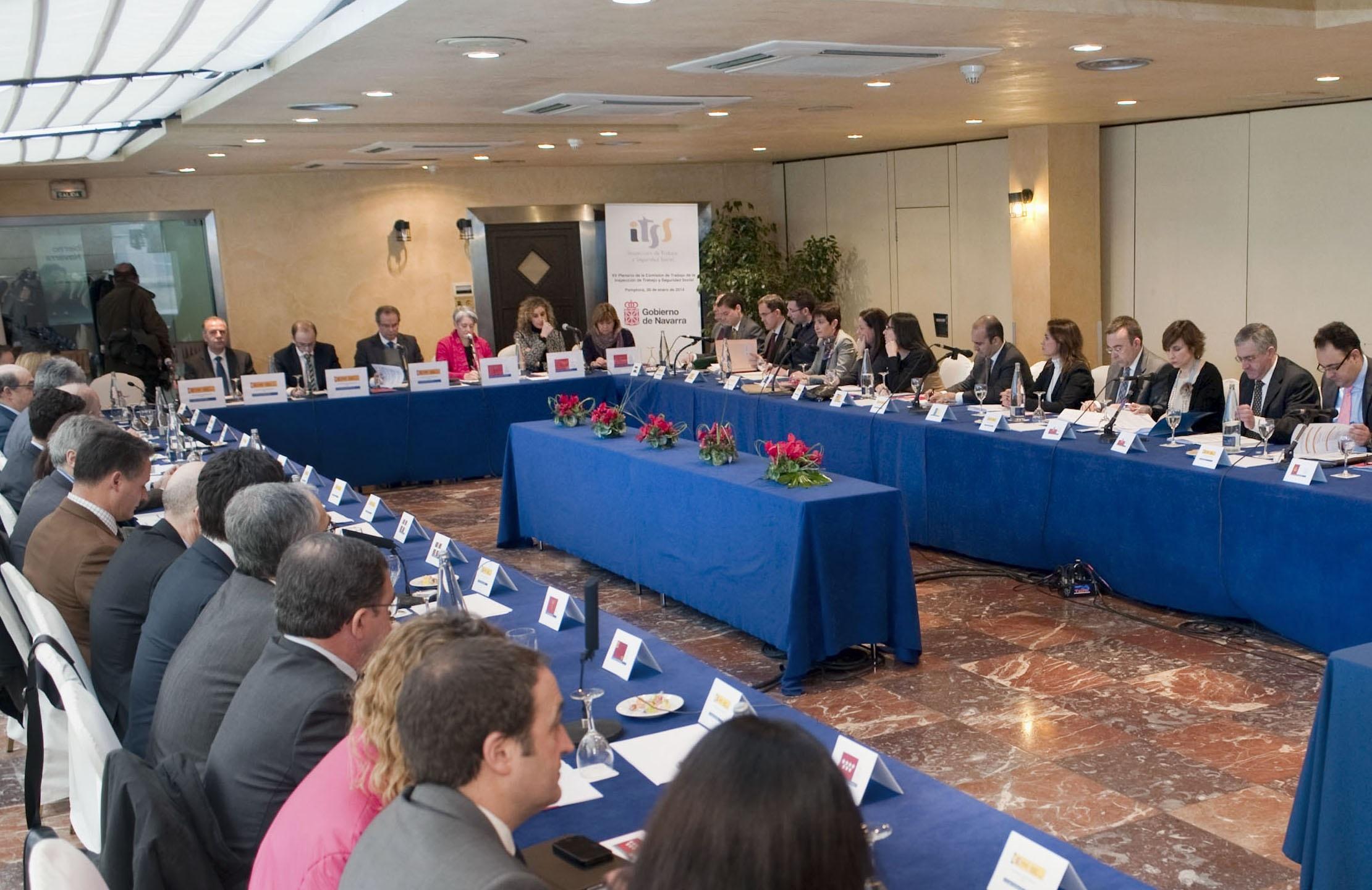 Goicoechea insta a la unidad de la Administración y entidades sociales frente al fraude laboral