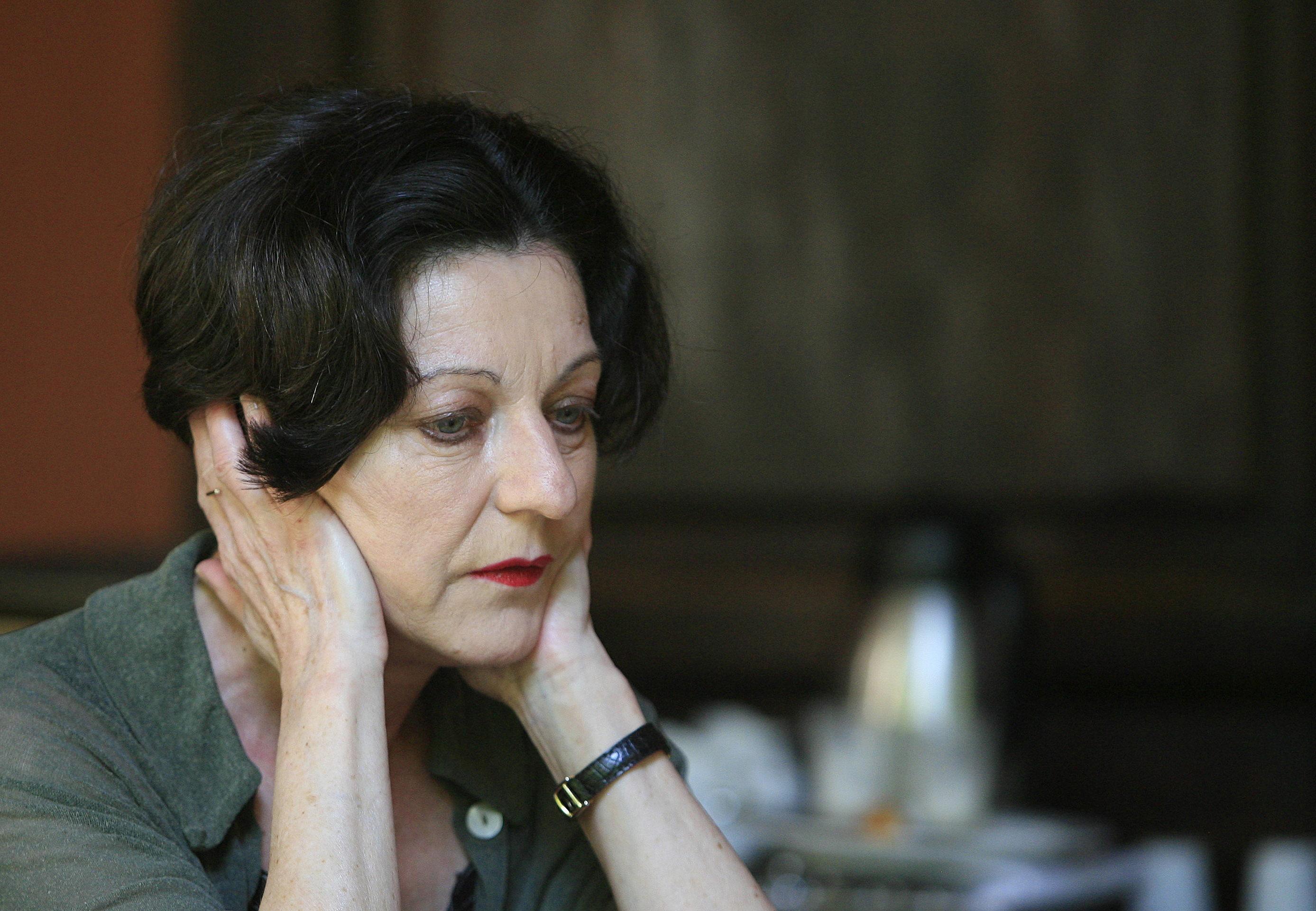 La escritora Herta Müller, protagonista del Festival de las Letras de Bilbao