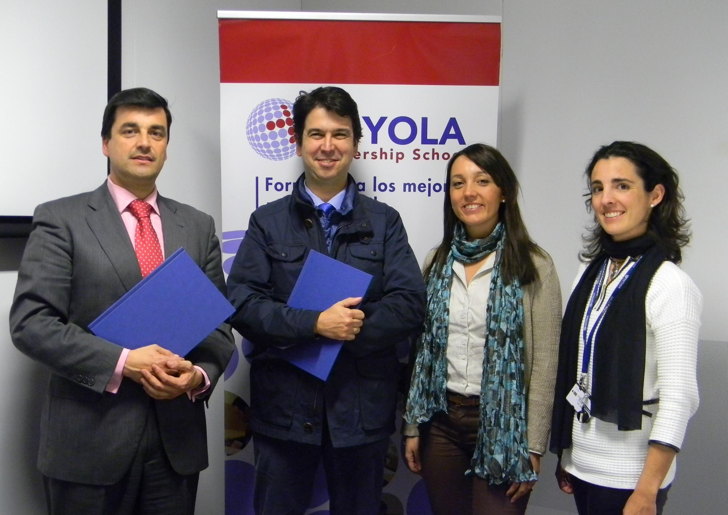 Loyola Leadership School y el Instituto de Especialidades Neurológicas colaboran en formación en materia de psicología
