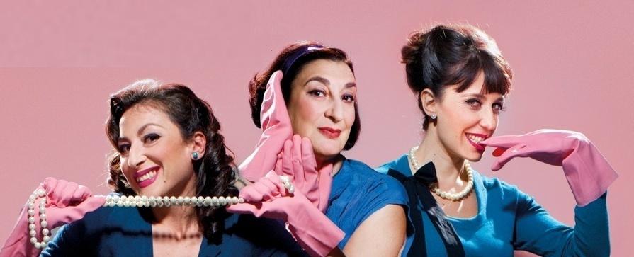 Las actrices Berta Ojea, Mariola Fuentes y Concha Delgado desentrañan el  en Valladolid »El Manual de la Buena Esposa»