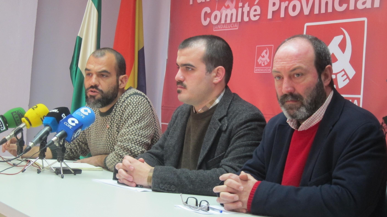 Mariscal (PCA) llama a movilizarse y critica a CEOE al plantear ceder a trabajadores temporales derechos de indefinidos