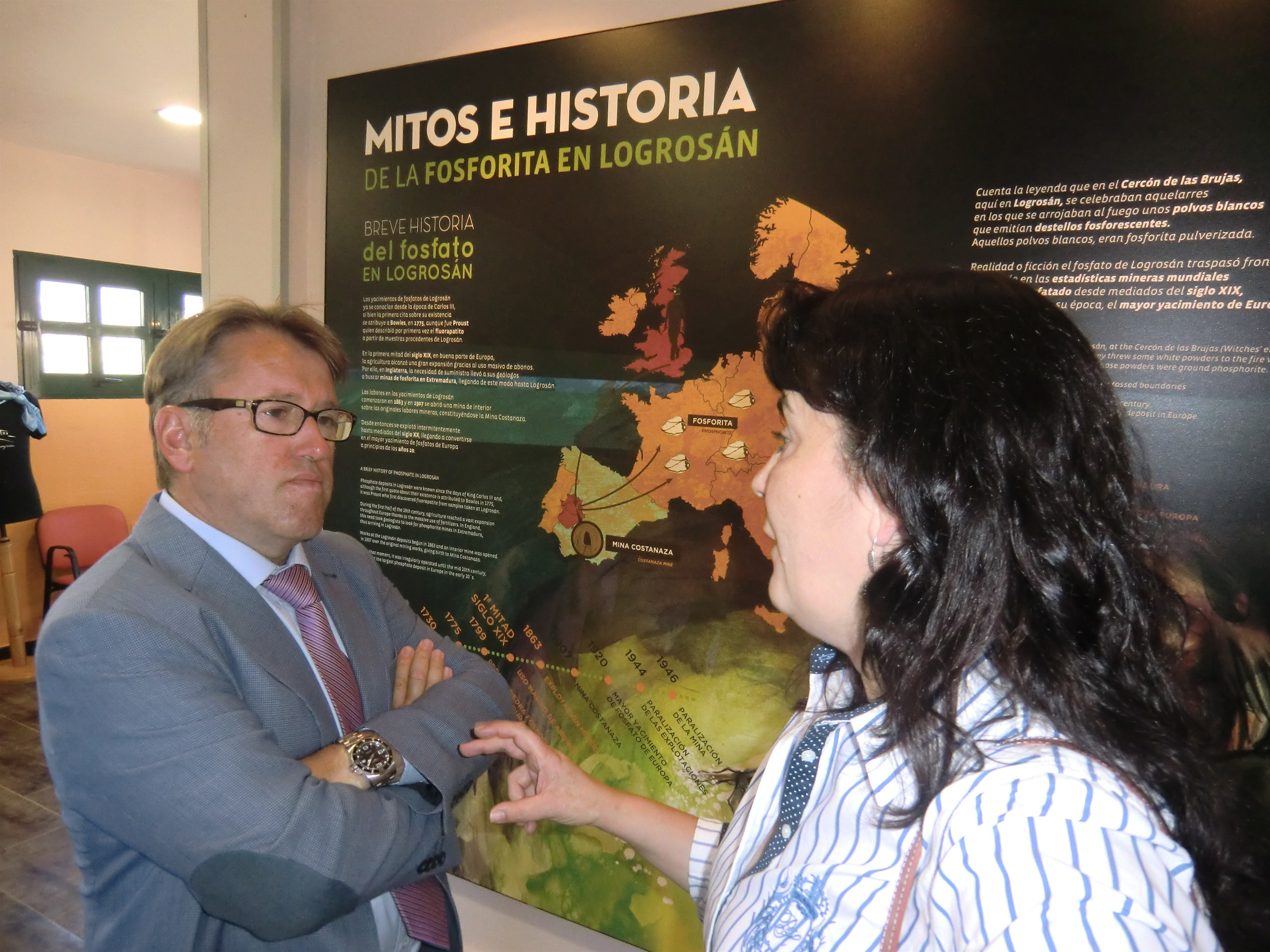 La Mina Costanaza de Logrosán (Cáceres) ampliará el recorrido turístico por sus galerías