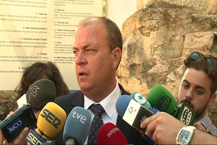 Monago explicará en la Convención del PP »La fuerza de la Marca España» y Manzano llevará «la voz de los extremeños»