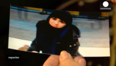 Nora se unió a la guerra Siria hace cinco meses y no ha vuelto a casa