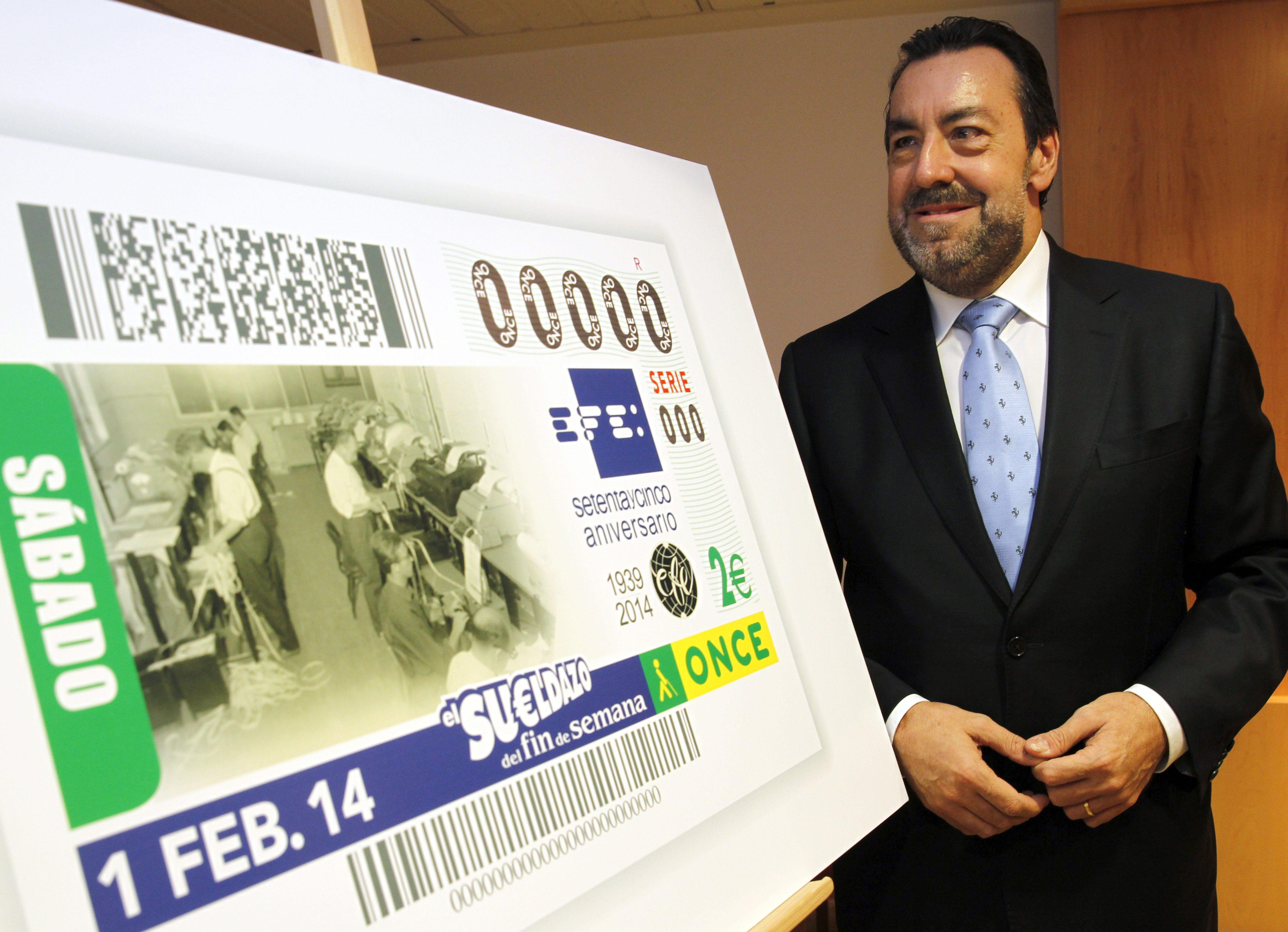 La ONCE dedica el sorteo del 1 de febrero al 75 aniversario de la agencia Efe