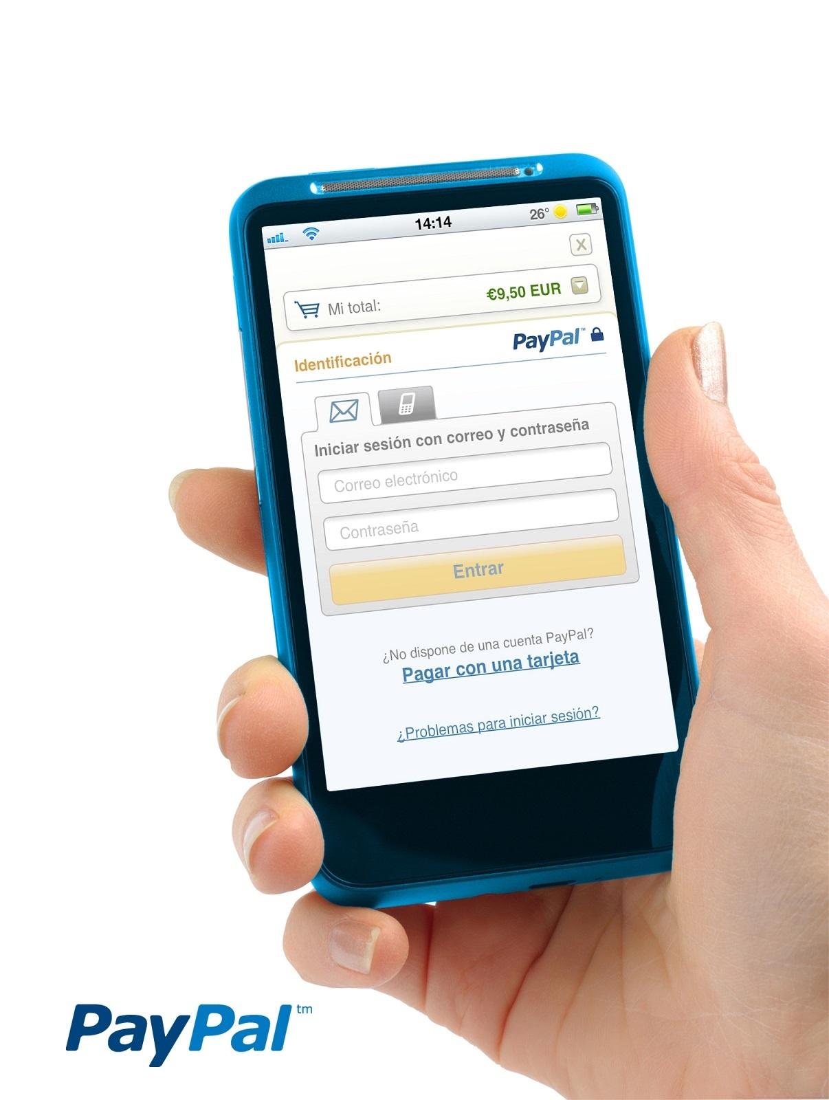 PayPal alcanza los 3 millones de cuentas activas en España