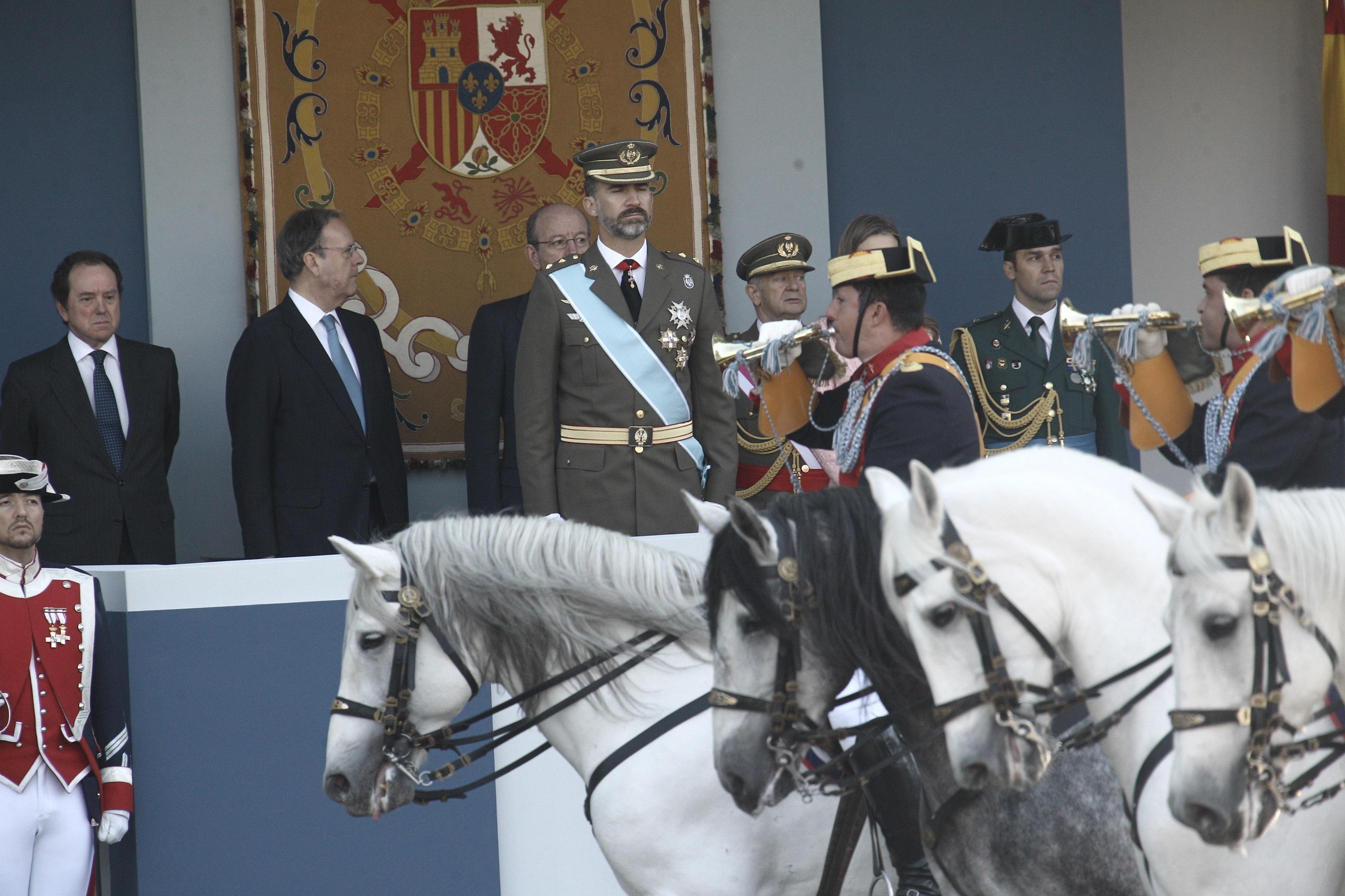 El Príncipe visitará hoy la Brigada Paracaidista en el día de su 46 cumpleaños