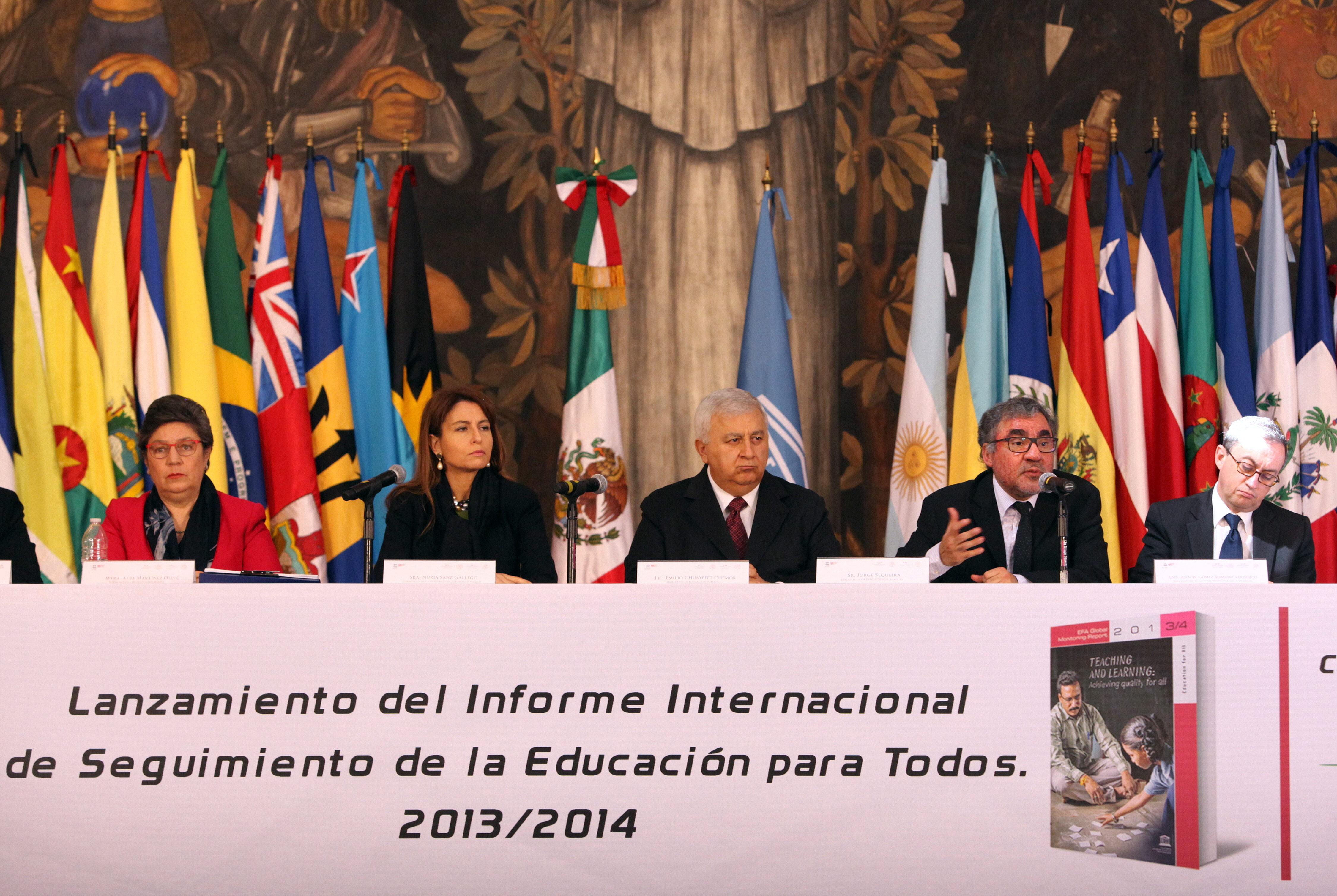 La Unesco avisa de que Latinoamérica no alcanzará los objetivos de 2015 en educación