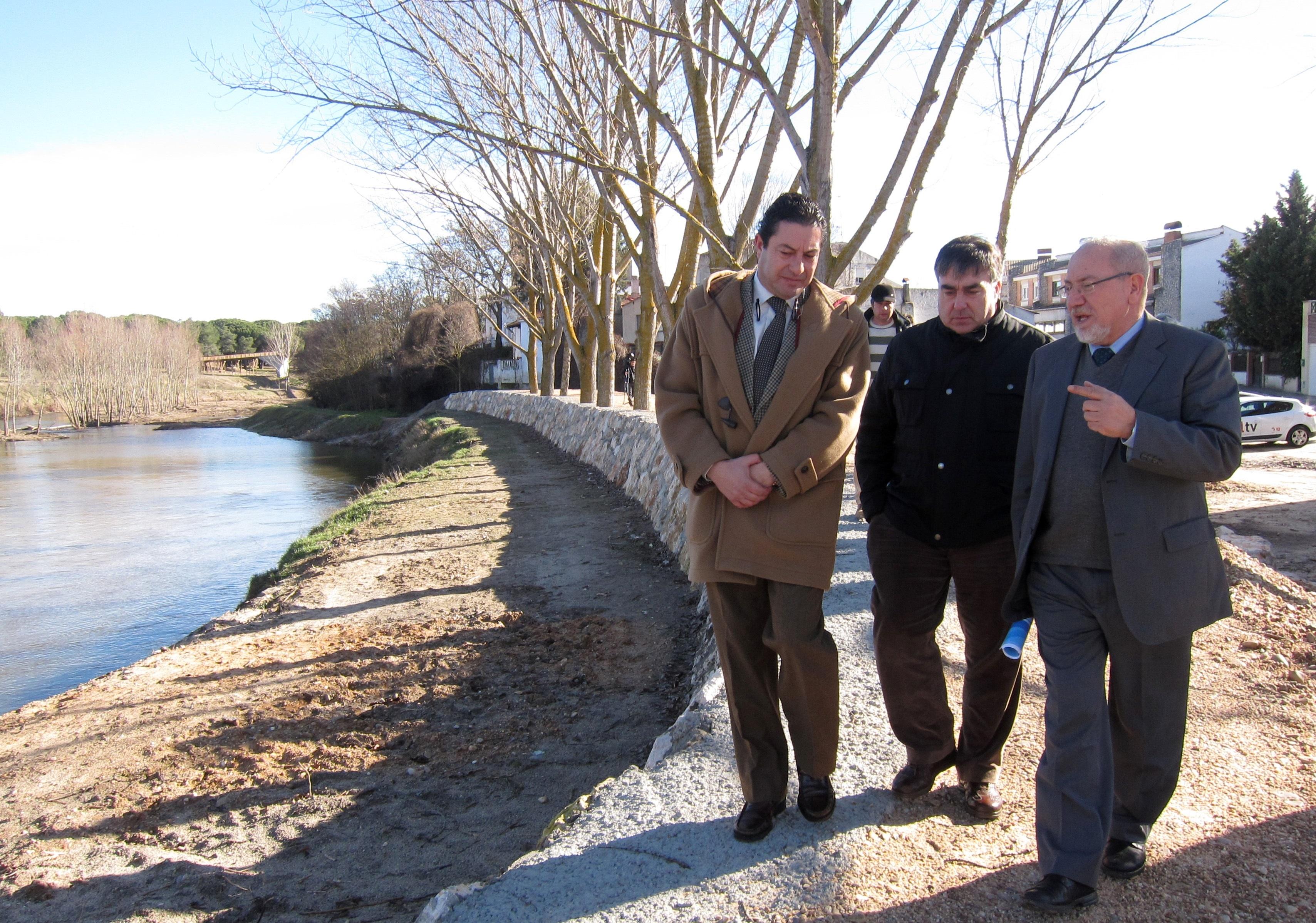 Valín asegura que la presa que estudia la CHD en el Cega para evitar crecidas se construiría a partir de 2017