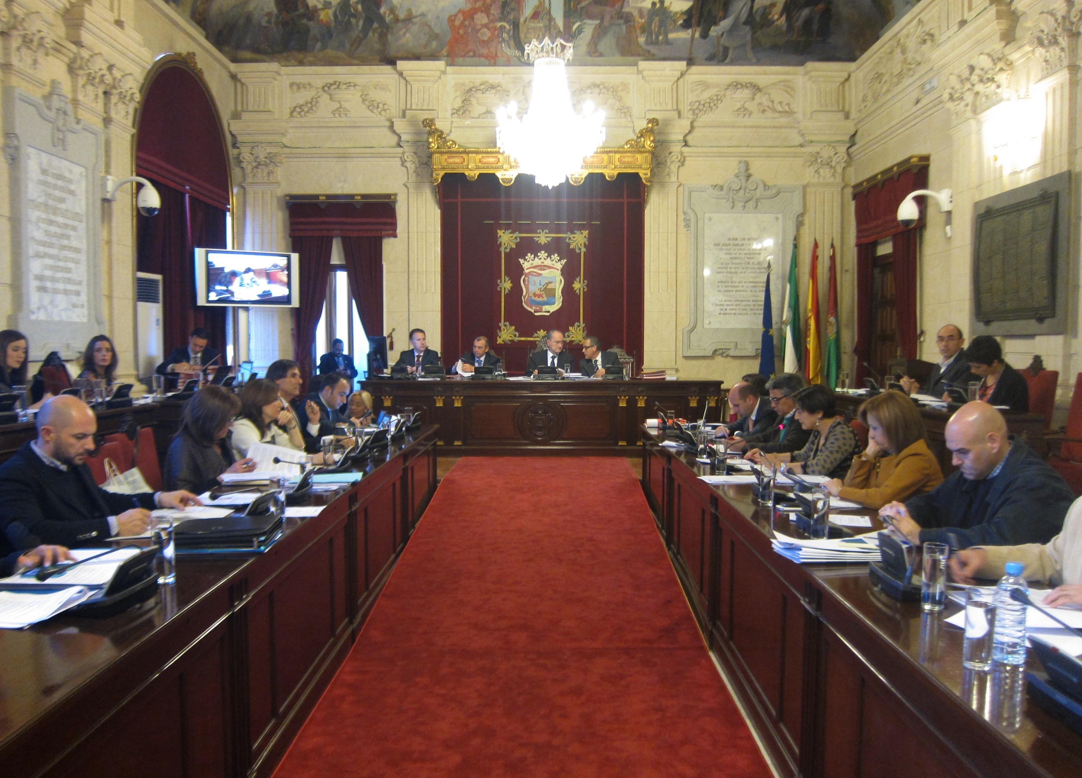 El nuevo sistema tarifario de Emasa protagonizará el pleno ordinario de este jueves en el Ayuntamiento de Málaga