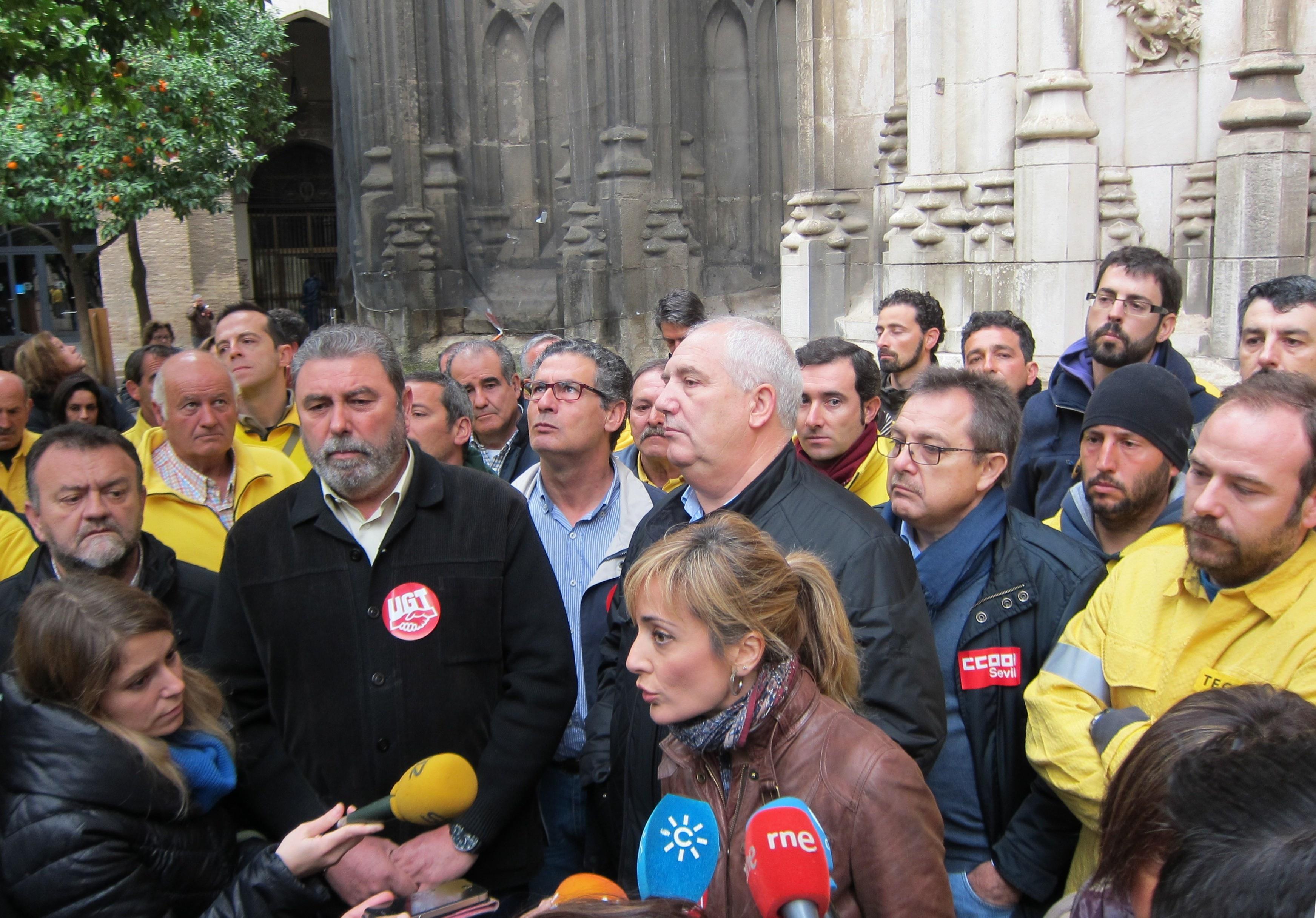 Castilla y Carbonero subrayan el regreso de la «unión sindical» ante la «lucha ejemplar» de la plantilla de Amaya