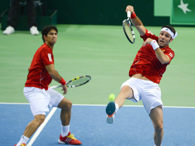 Alemania gana el dobles y España tendrá que pelear por la permanencia