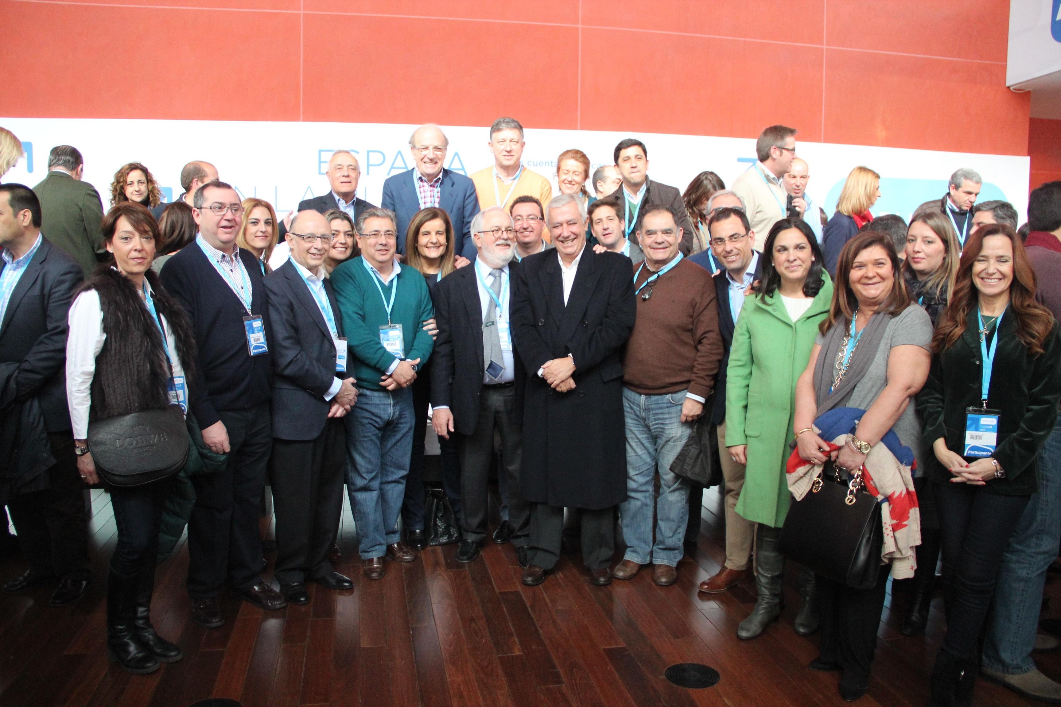González resalta durante la Convención Nacional del PP «la apuesta del Gobierno por Huelva»