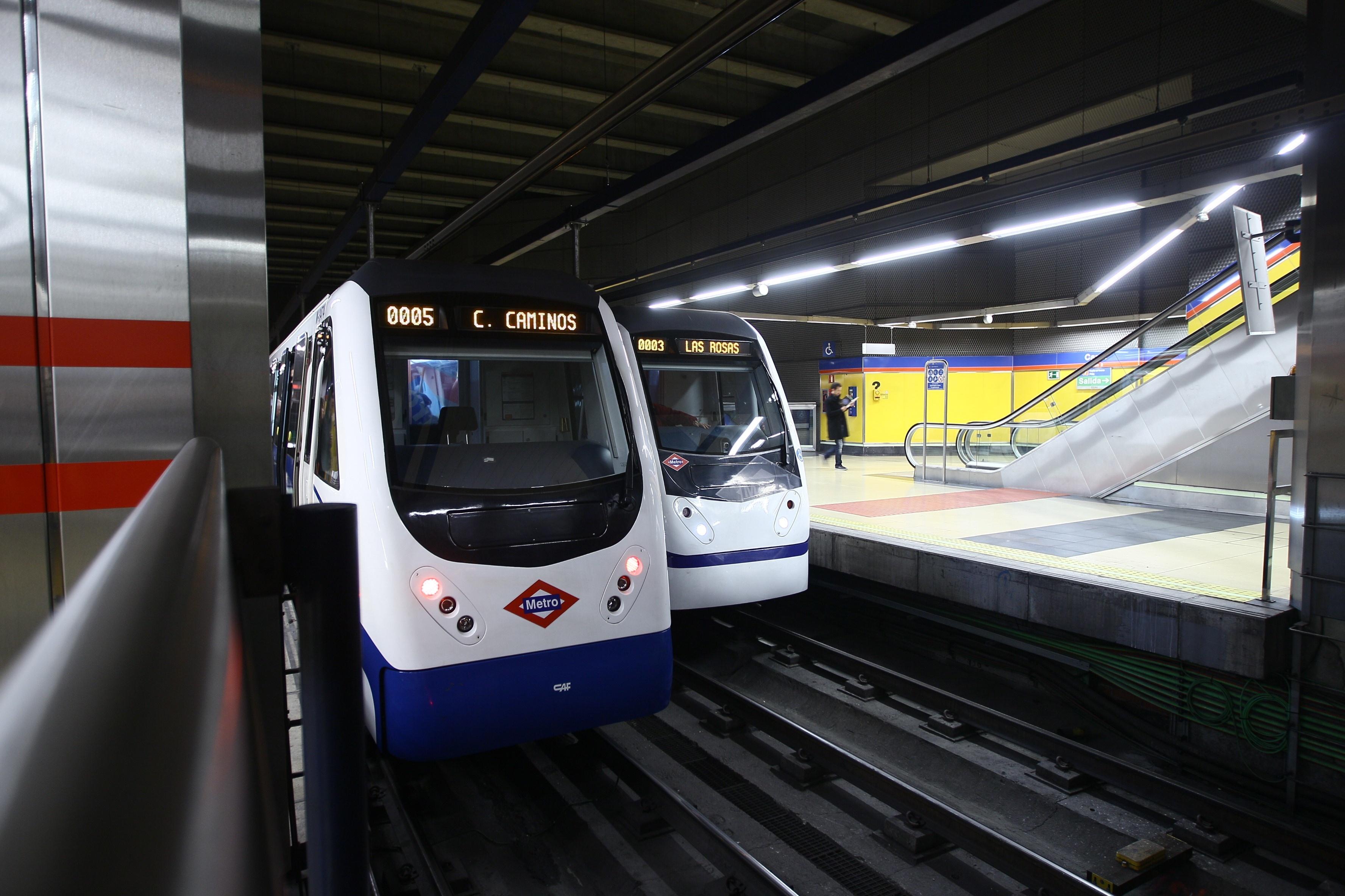 Interrumpido el tráfico de trenes entre las estaciones de Legazpi y Méndez Álvaro