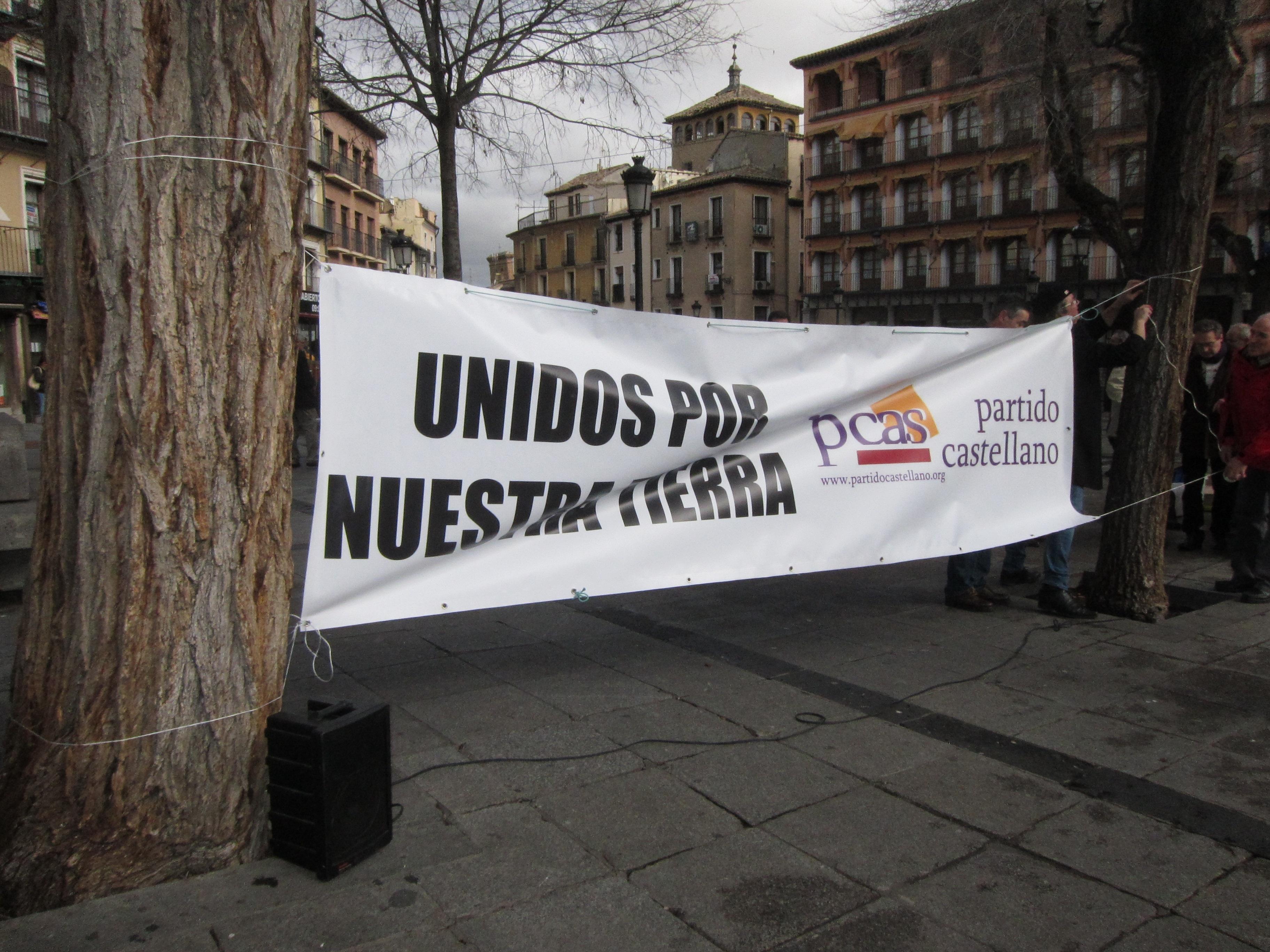 El PCAS celebra en Toledo el XXVI Homenaje a los Comuneros reivindicando un río Tajo limpio y con caudal
