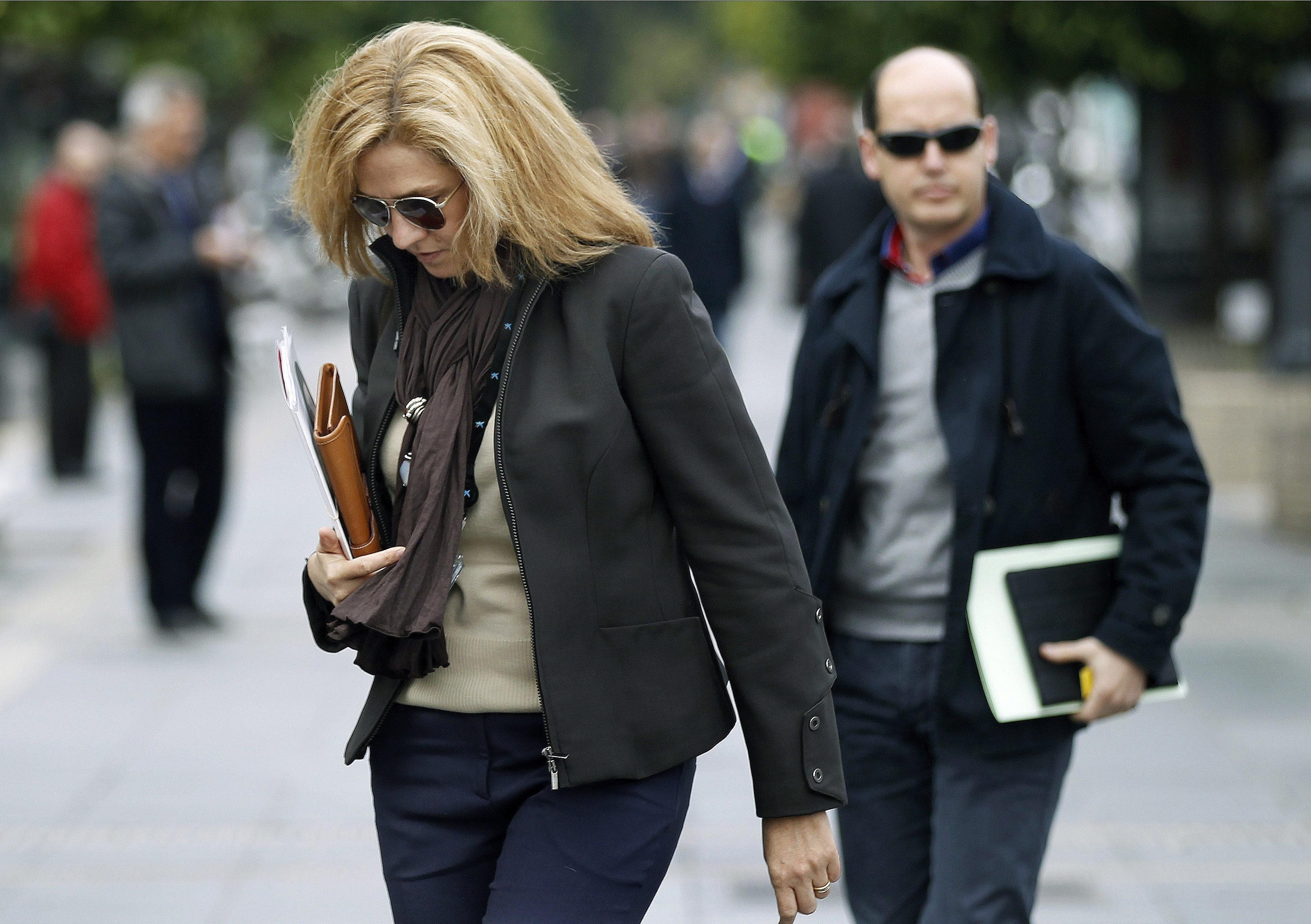 Palma se prepara con normalidad para la declaración de la infanta Cristina