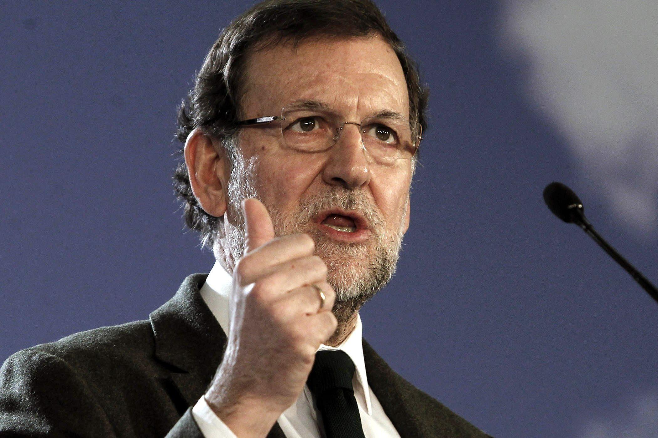 Rajoy recalca que habrá una bajada sucesiva de impuestos en los próximos años